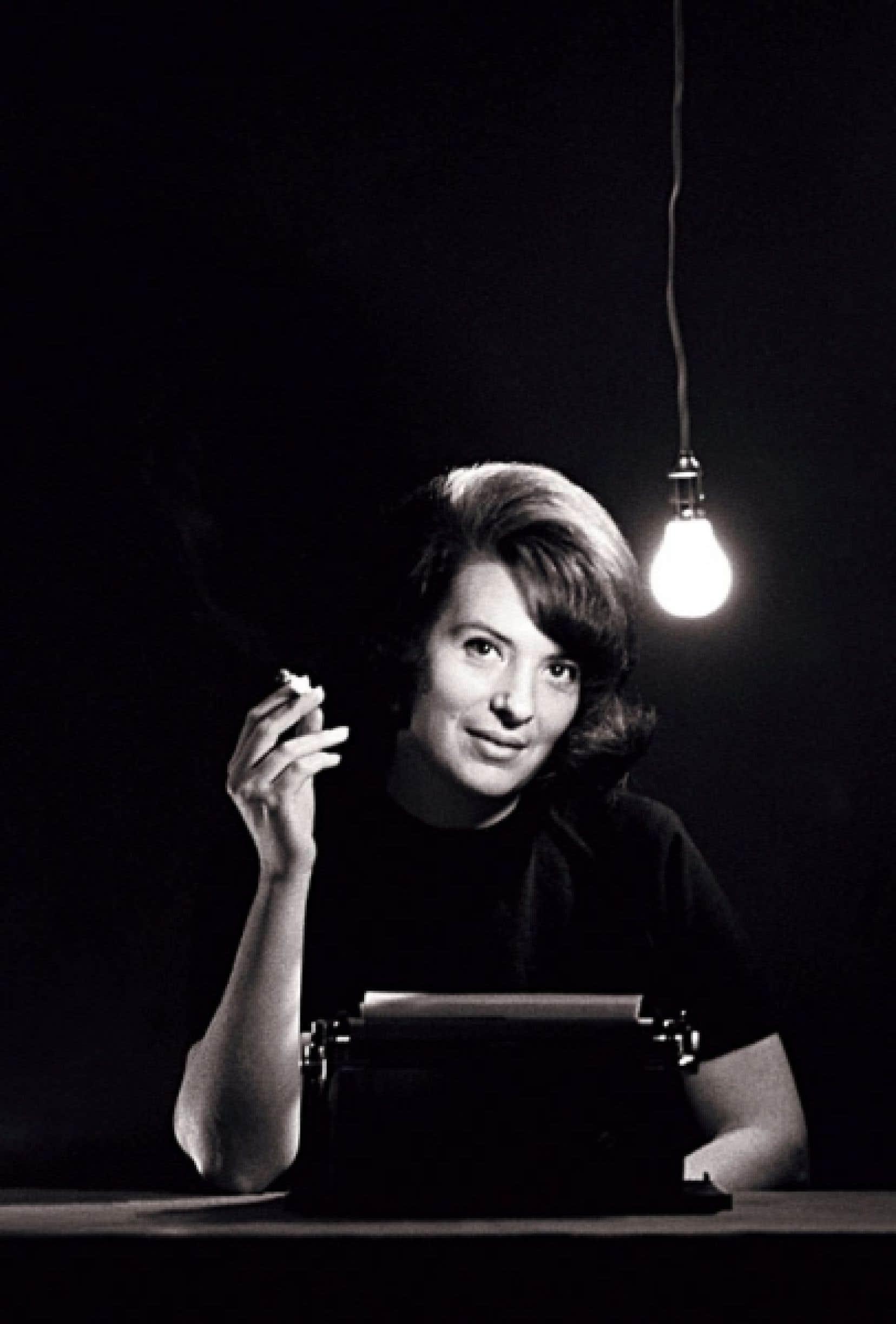 <div> Photo de Marie Cardinal datant de 1963 parue dans le magazine Marie-Claire.</div>