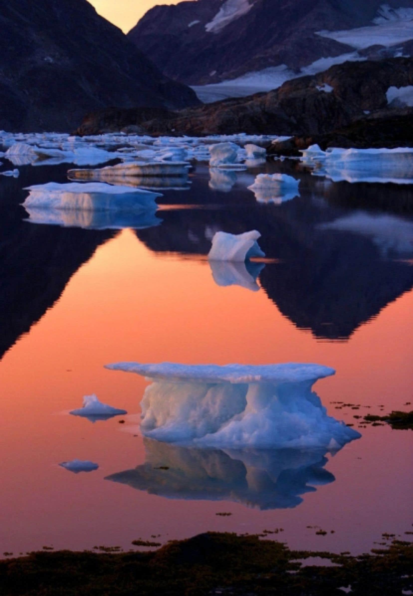 La réduction de la taille de la banquise arctique a atteint cet été un niveau record.