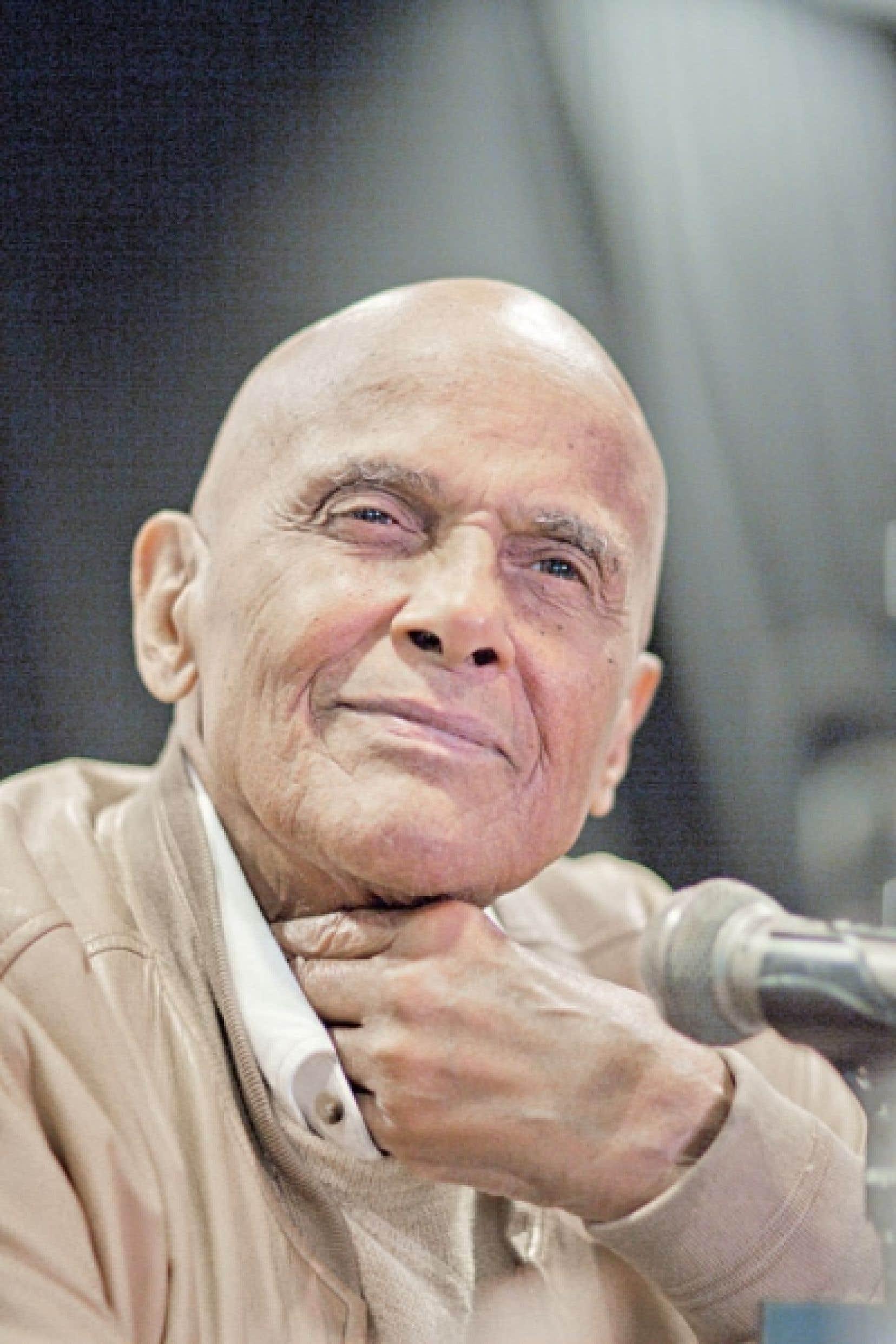 Aux yeux d'Harry Belafonte, on est sur Terre pour demeurer optimistes, par-delà les doutes.