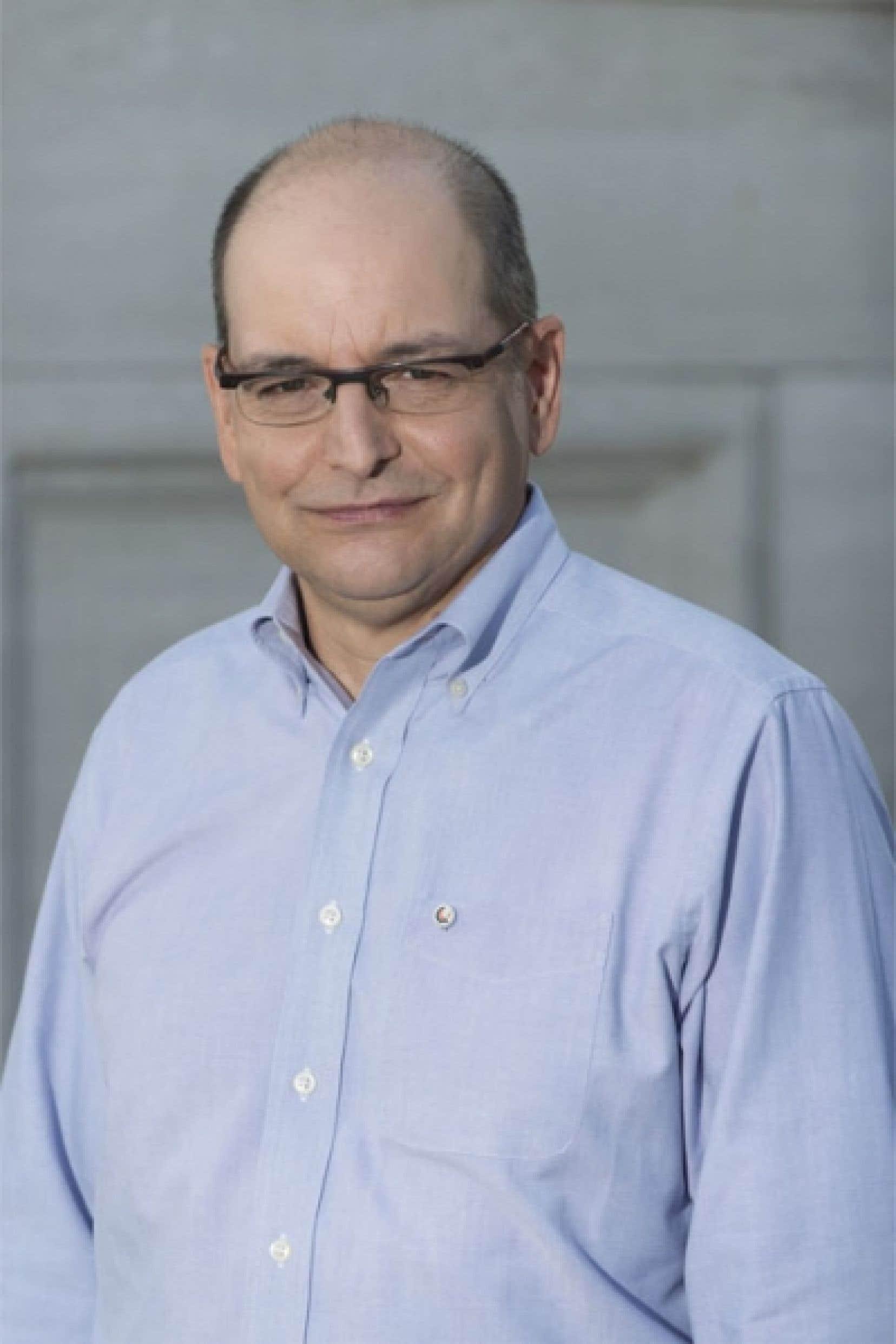 Benoît Melançon croit que son blogue sur la langue, L'Oreille tendue, a séduit le jury.