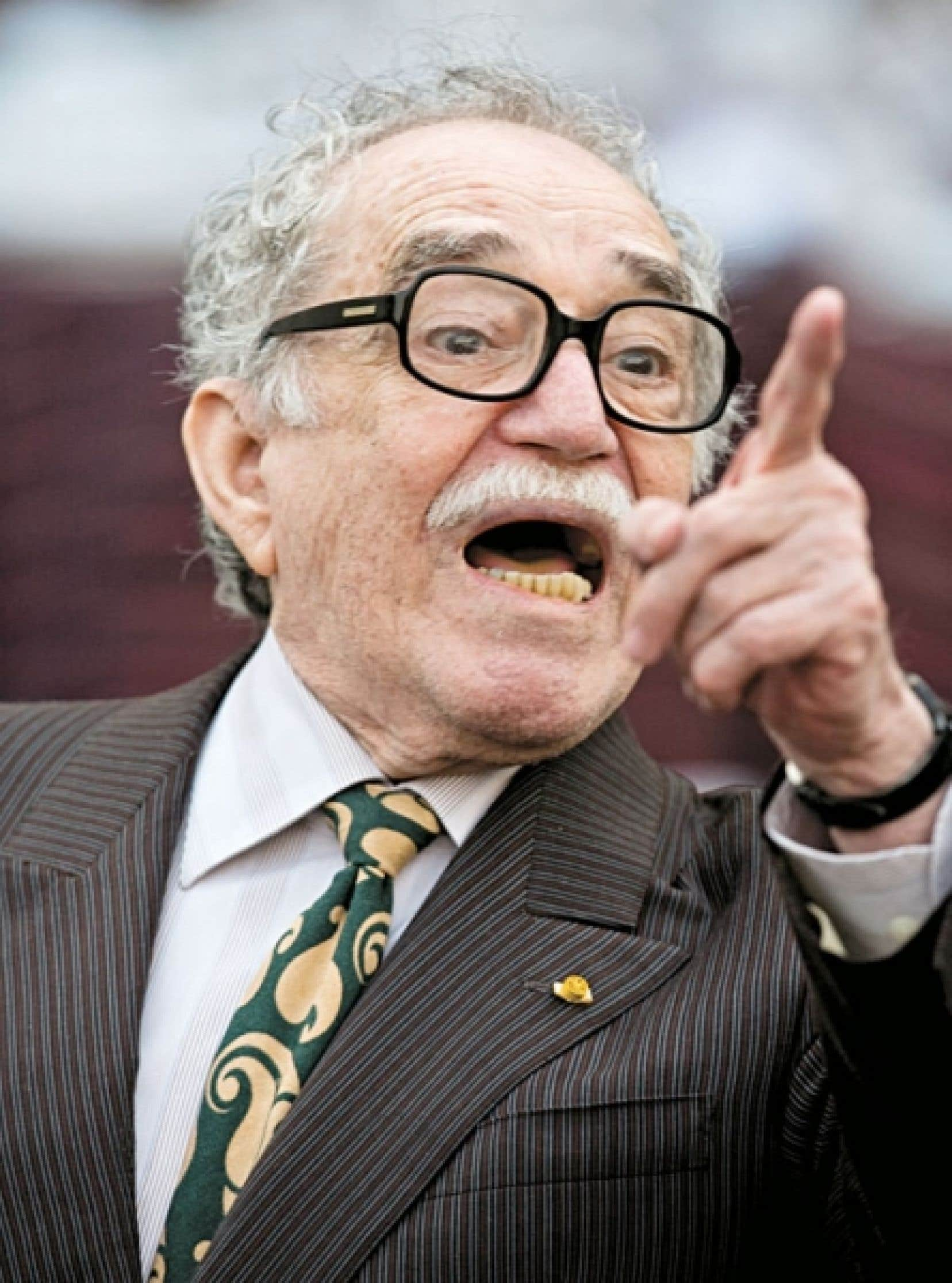 Gabriel García Márquez n'est pas un homme de la parole en public comme en témoigne le titre de son recueil Je ne suis pas ici pour faire un discours.