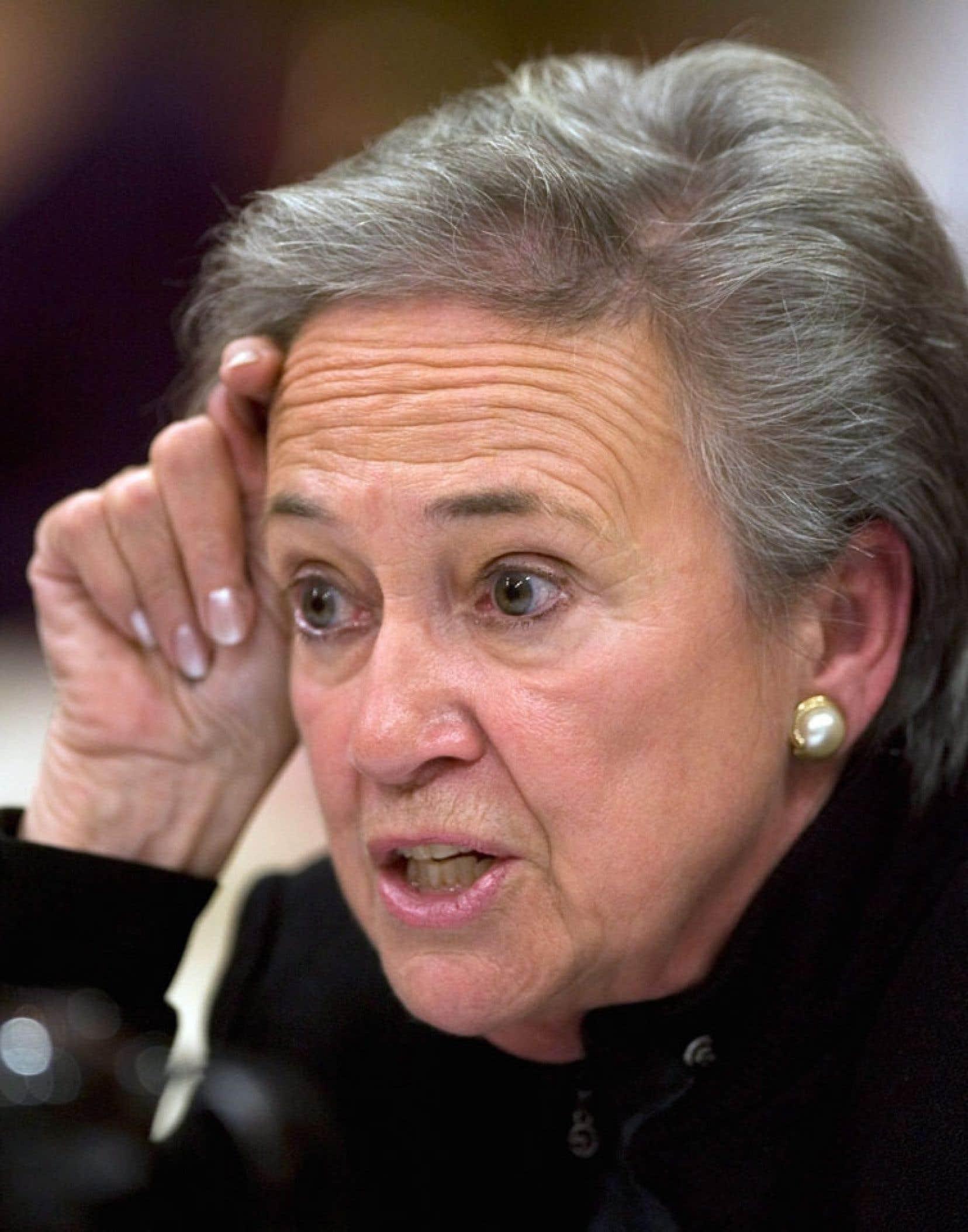 L'ex-lieutenante-gouverneure du Québec Lise Thibault