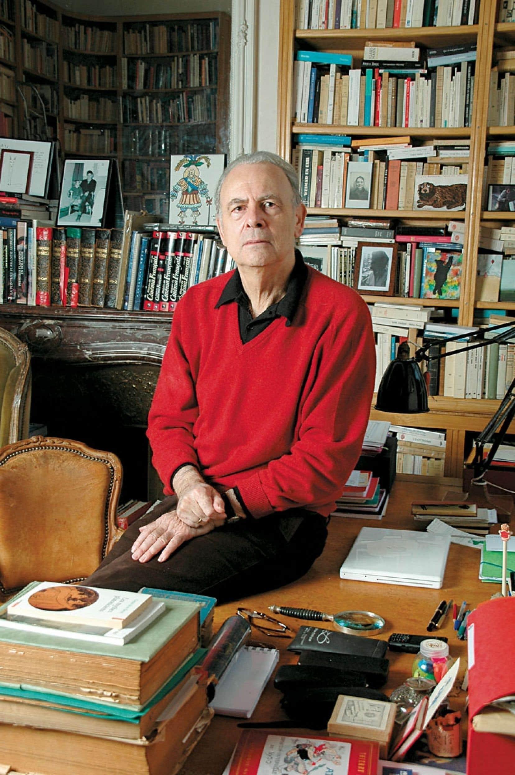 L'écrivain français Patrick Modiano