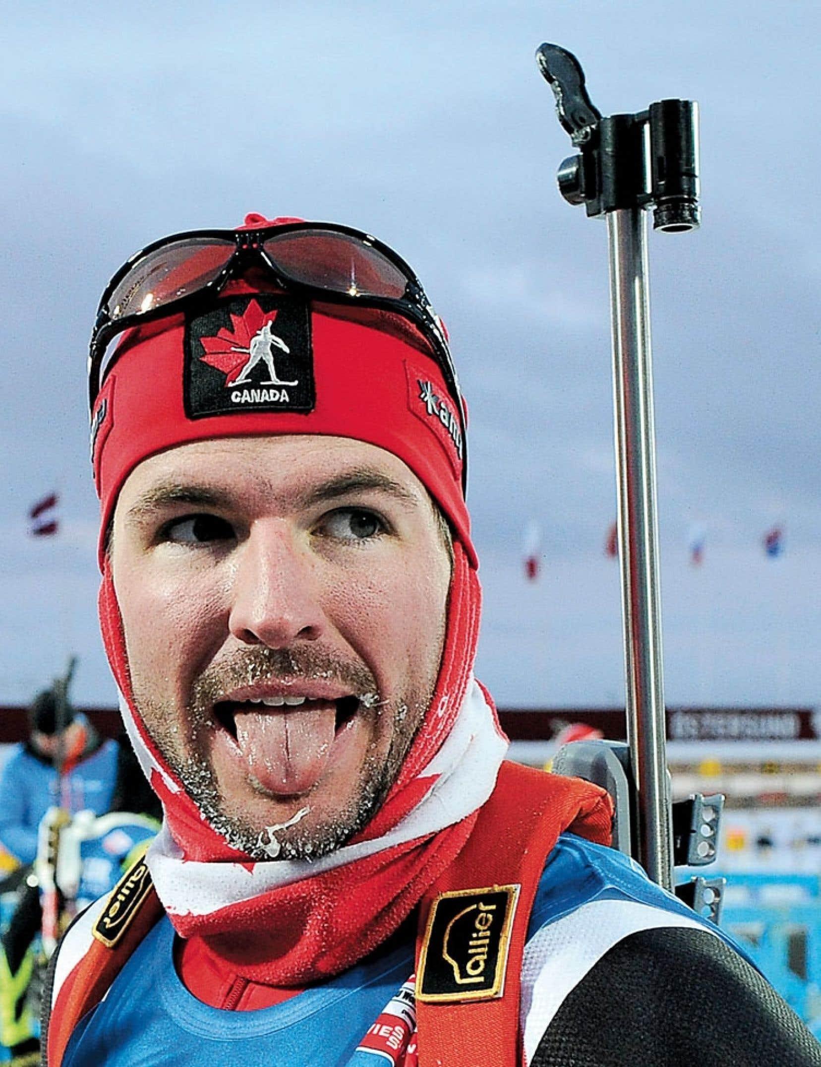 <div> Jean-Philippe Le Guellec a terminé 21e du 15 km en départ de masse, dimanche, à la Coupe du monde de biathlon de Pokljuka.</div>