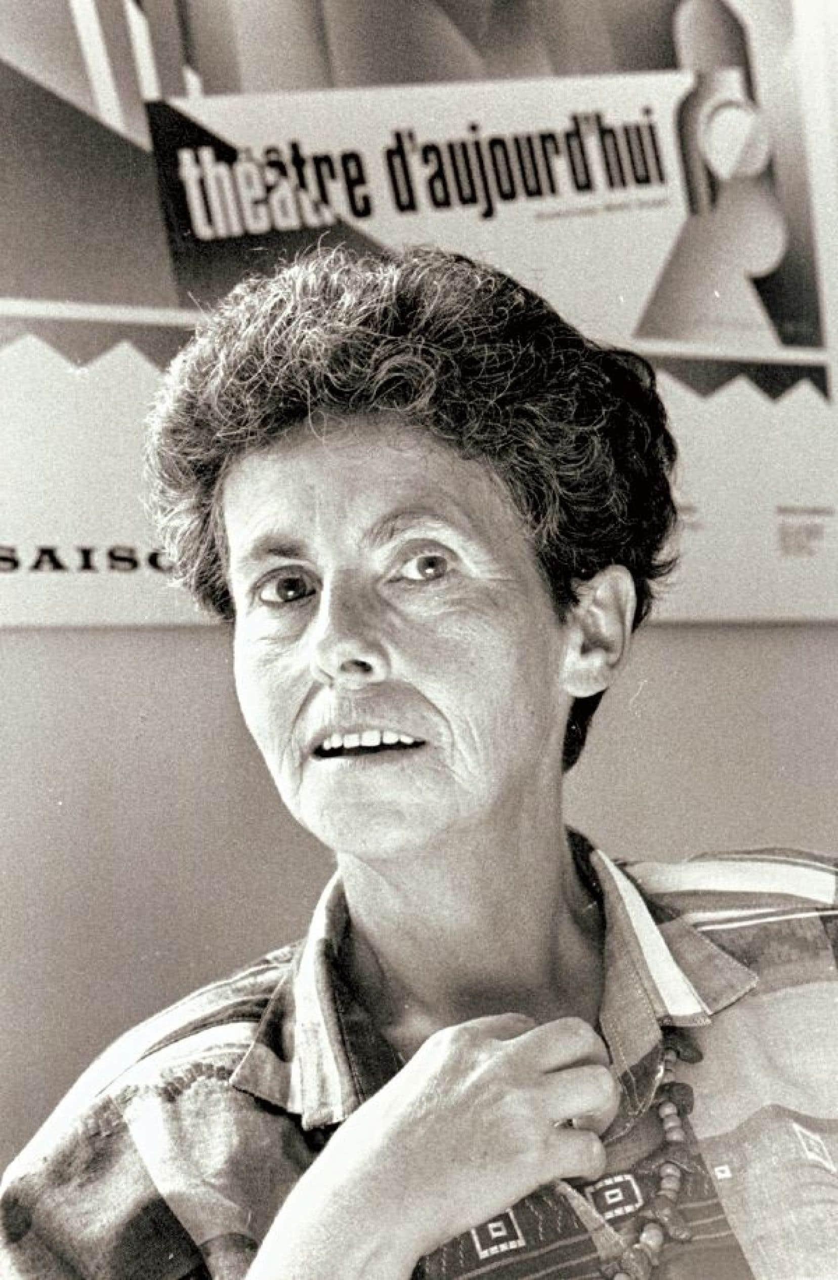 Jovette Marchessault en 1990.<br />