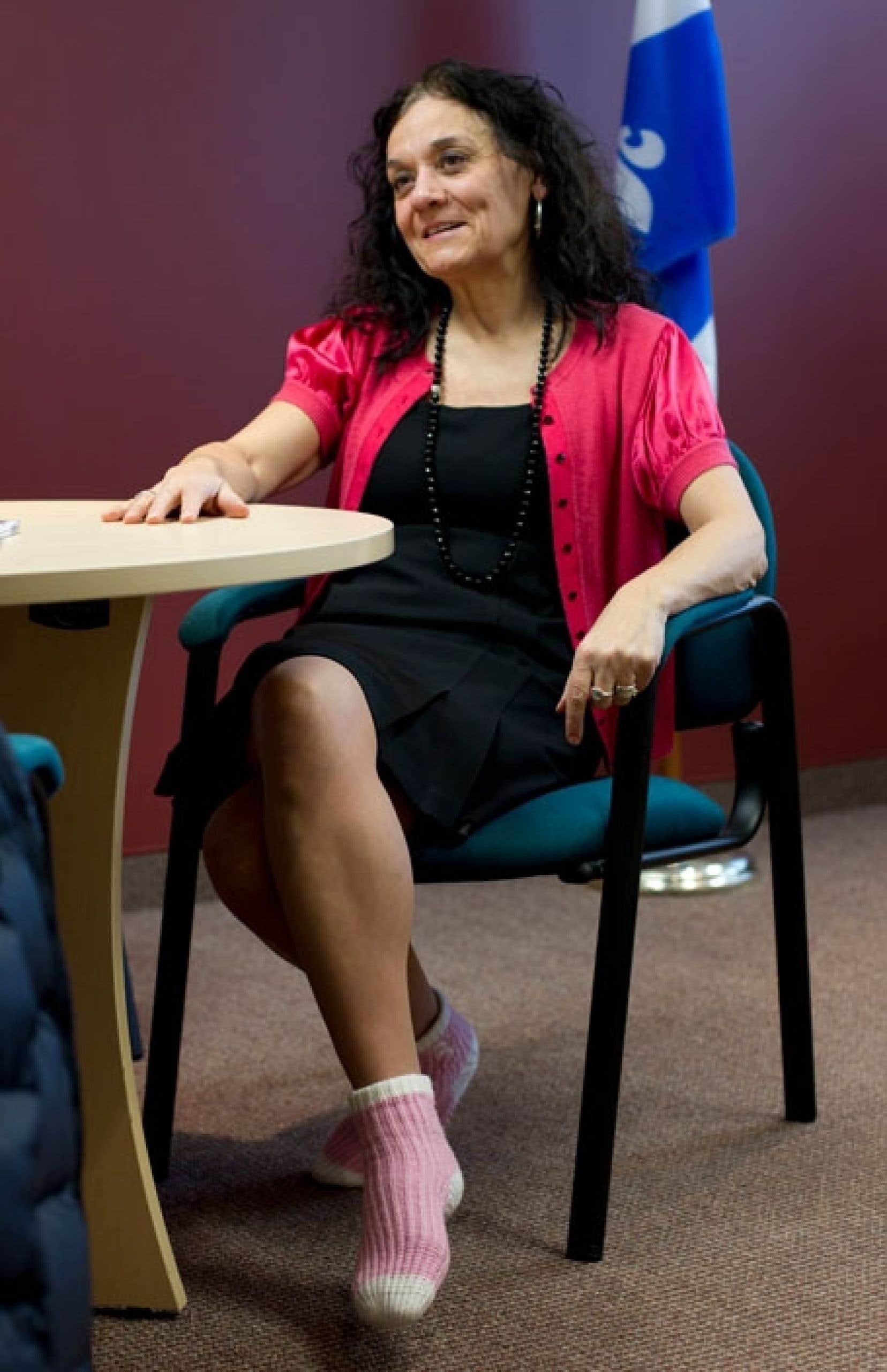 Rita de Santis affirme que la politique l'appelait depuis longtemps.