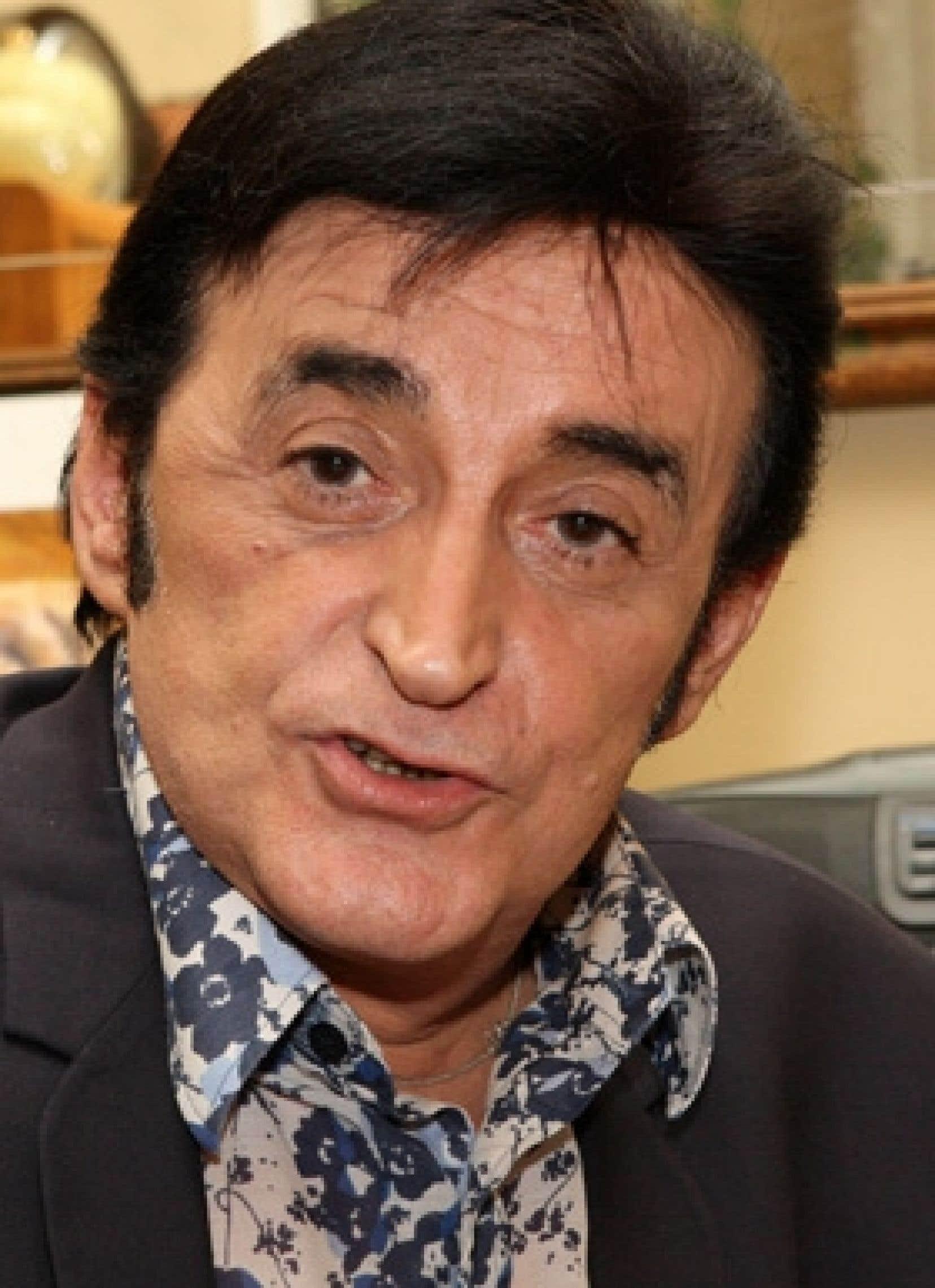 Hervé Fornieri, alias Dick Rivers.