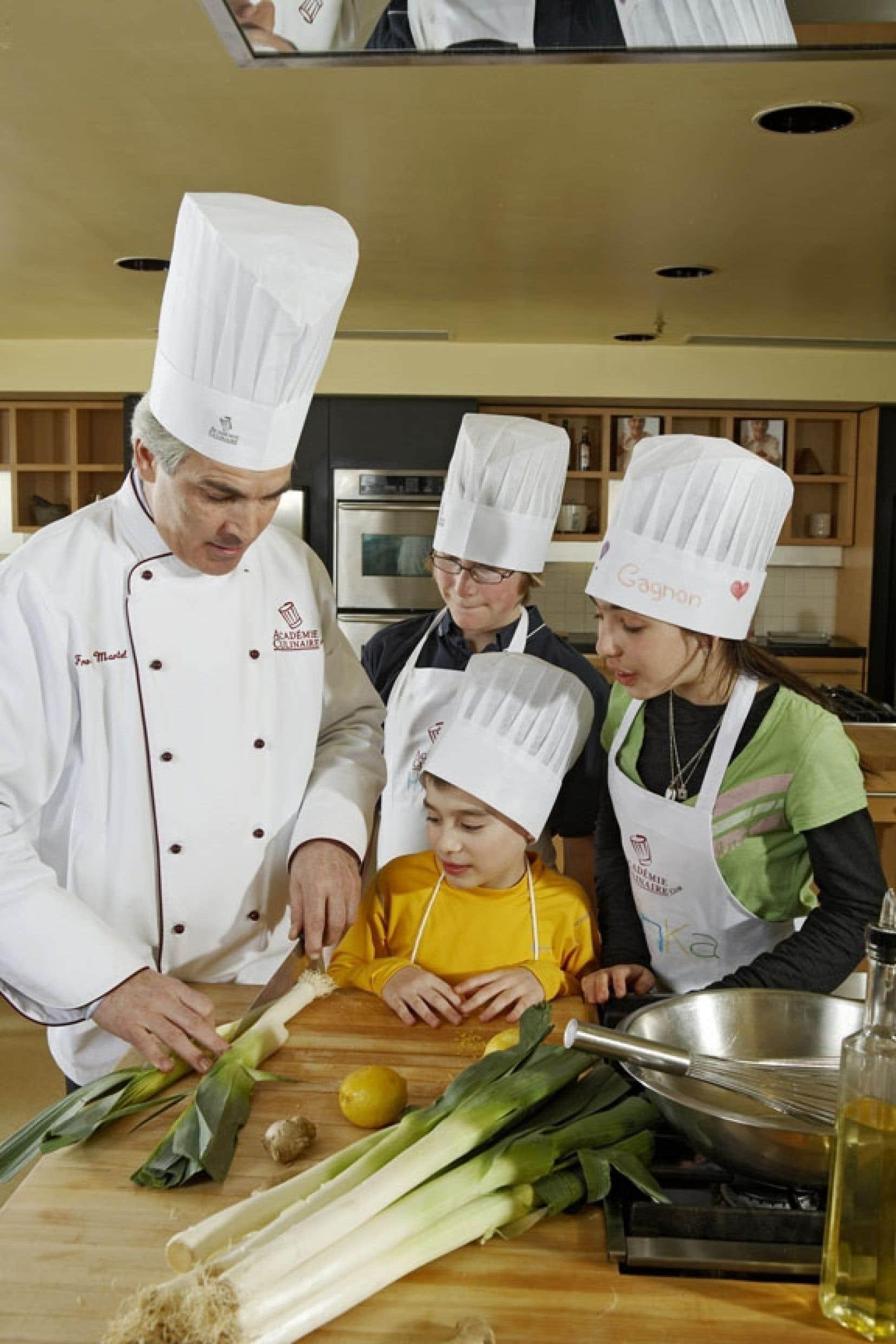Montr al et laval un t dans les casseroles ou dans l for Academie de cuisine summer camp