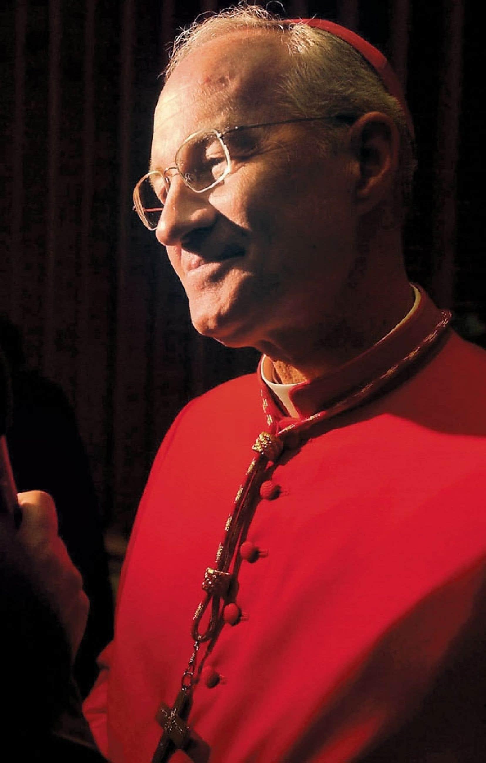<div> Monseigneur Marc Ouellet a &eacute;t&eacute; nomm&eacute; cardinal par le pape Jean-Paul II en 2003.</div>
