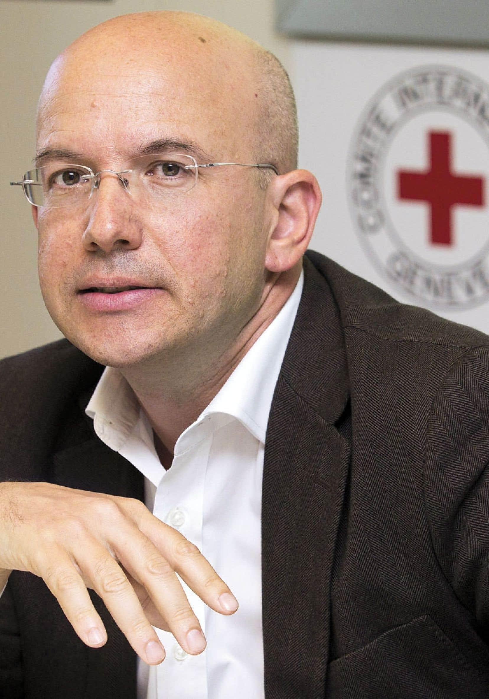 Yves Daccord est à la tête du CICR depuis juillet 2010.