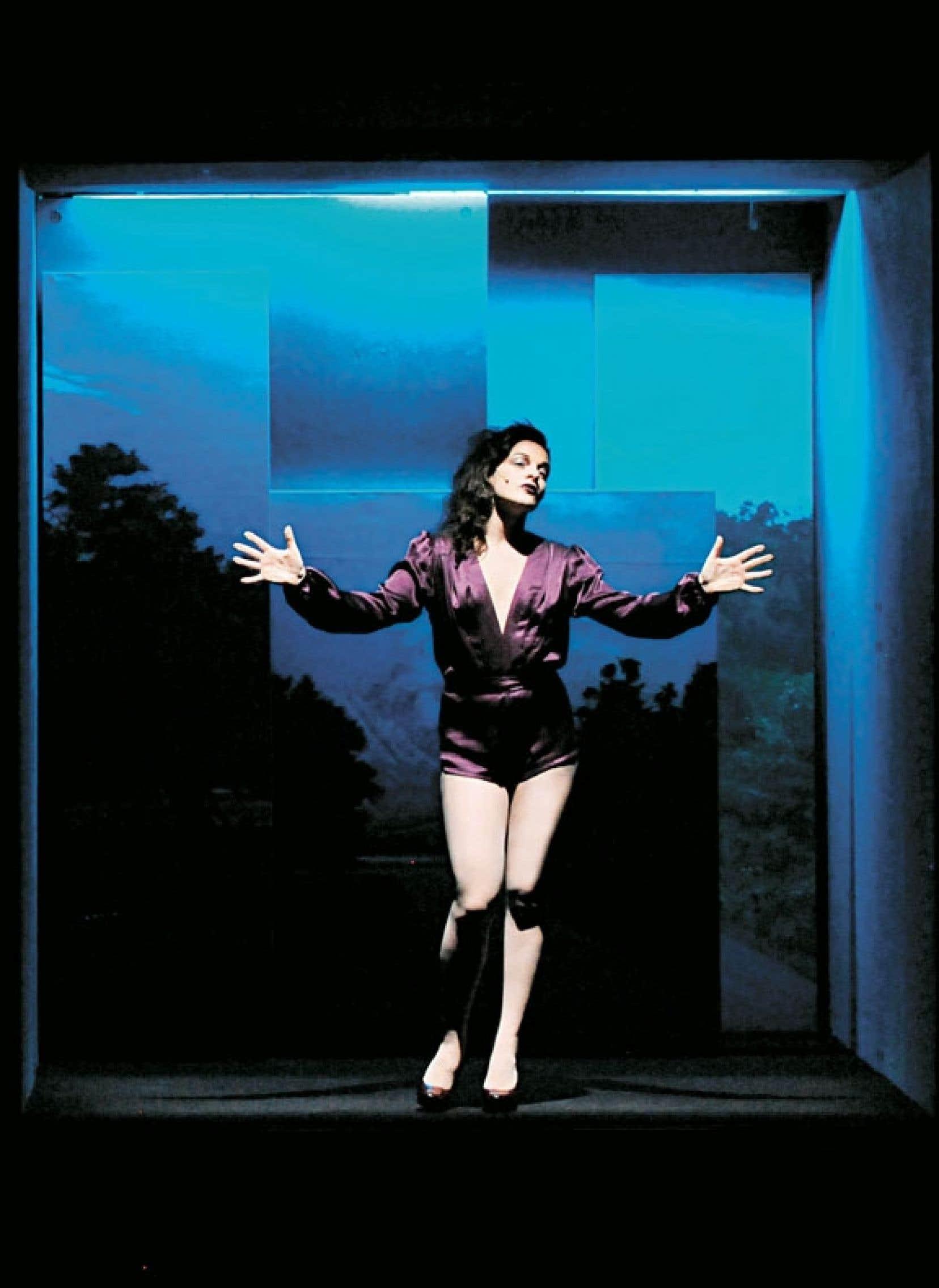 Sophie Cadieux dans La fureur de ce que je pense à L'Espace Go.