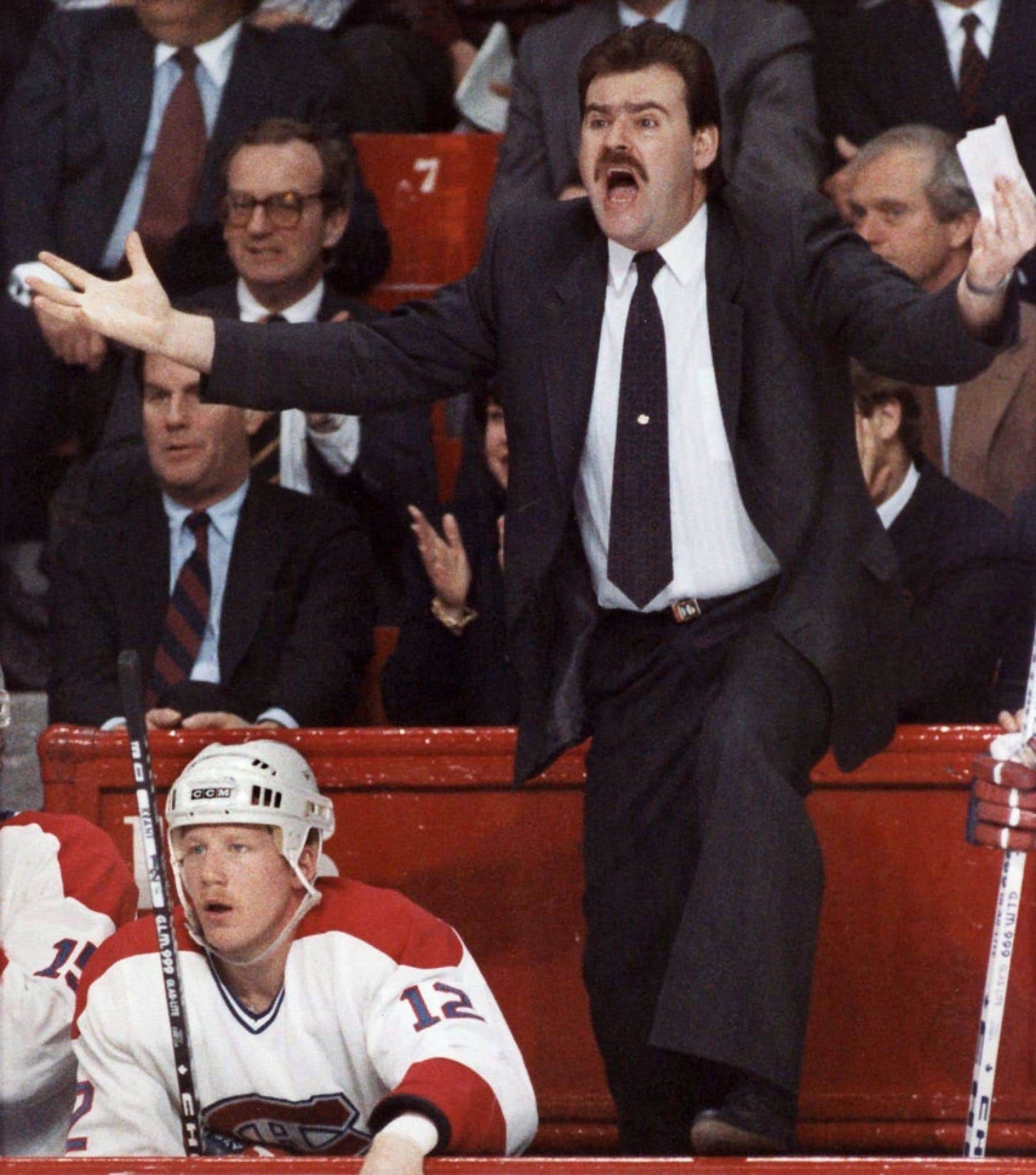 Pat Burns, un entraîneur intense