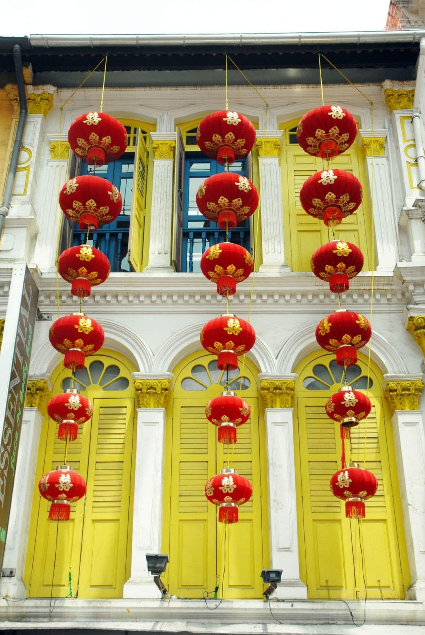 Dans le quartier chinois de Singapour, qui forme bel et bien un îlot même si cela peut paraître étrange dans une île majoritairement peuplée de Chinois…