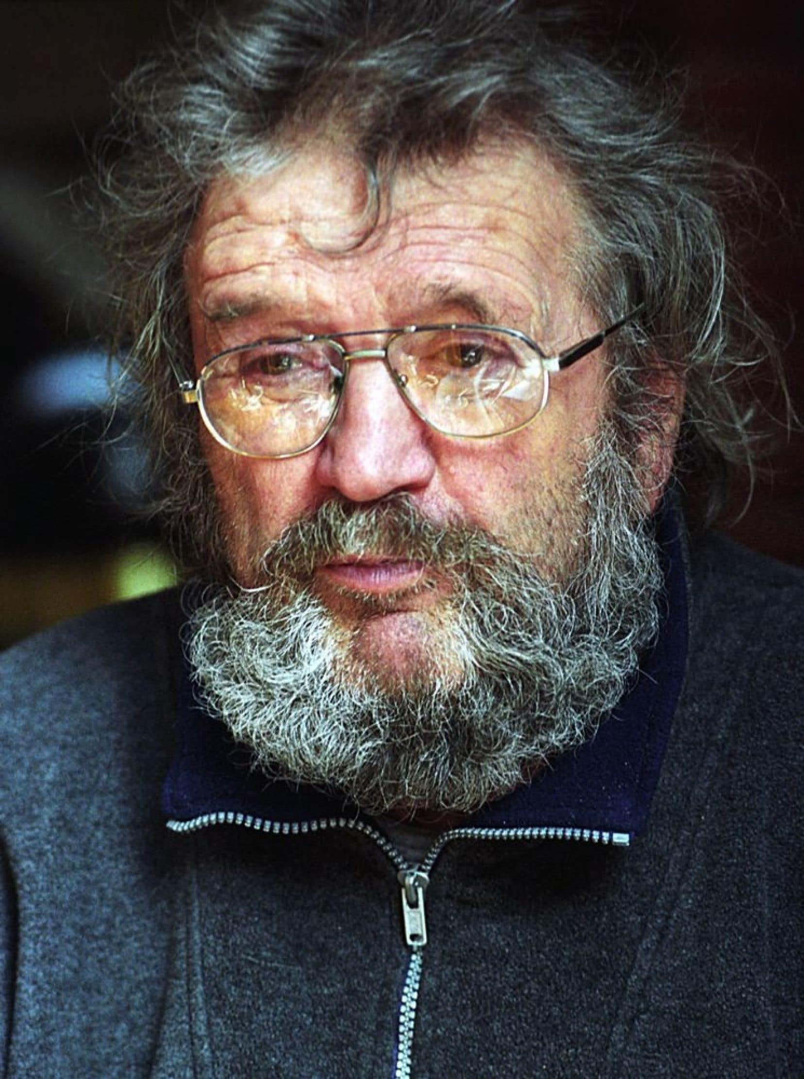 Robert Roussil en mars 2003