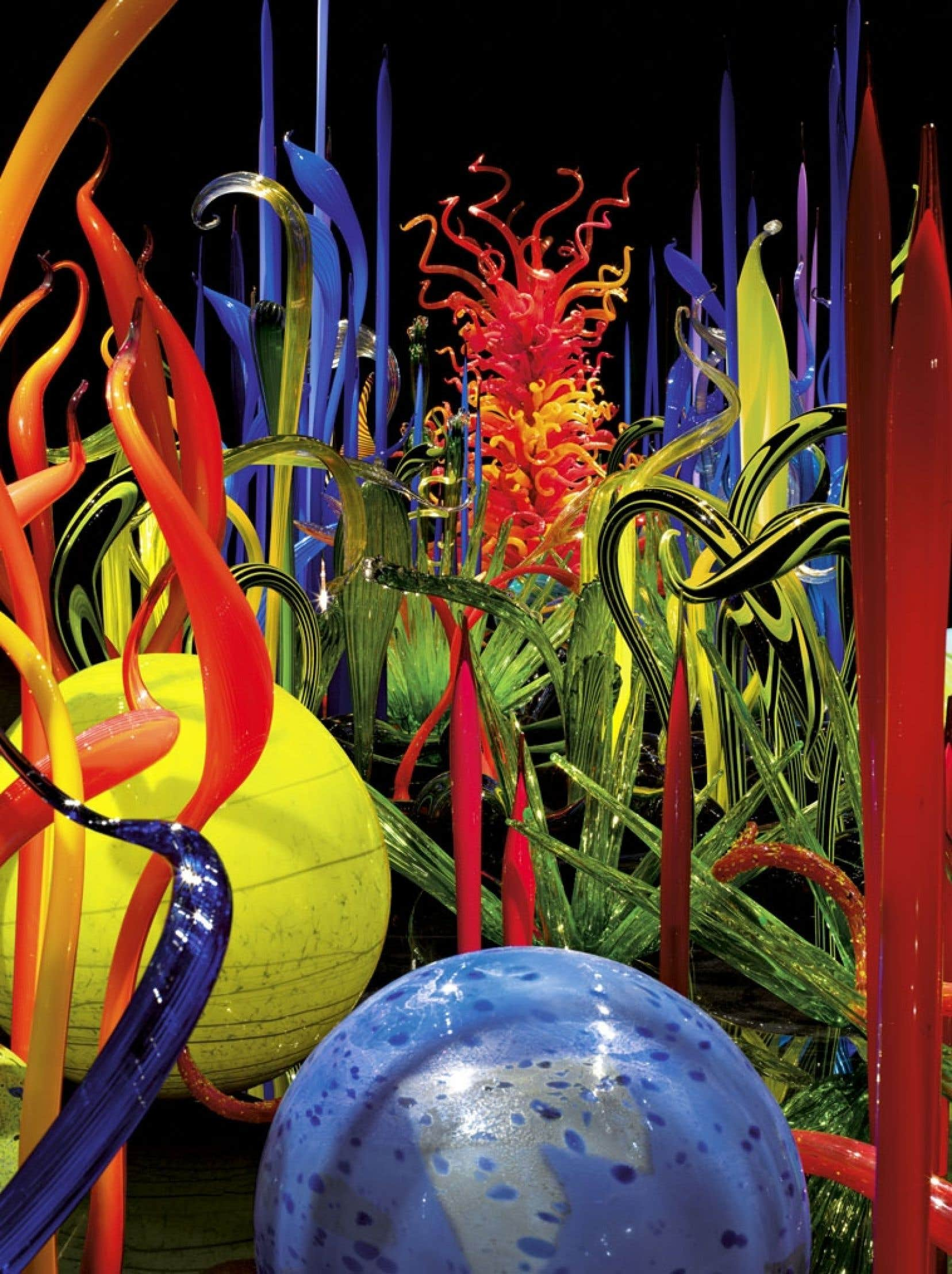Dale Chihuly, Mille Fiori, 2008.