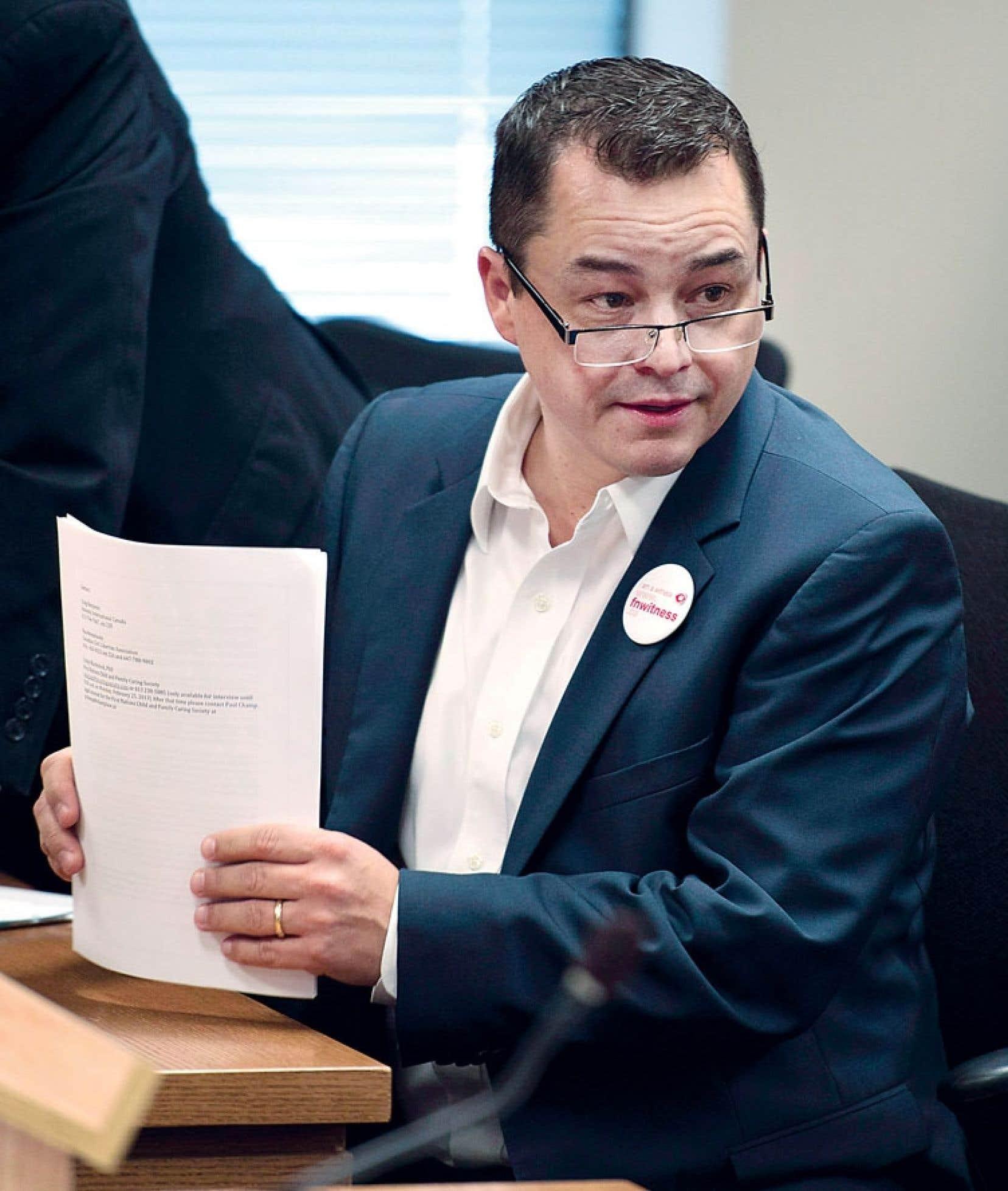 Le chef de l'Assemblée des Premières Nations, Shawn Atleo