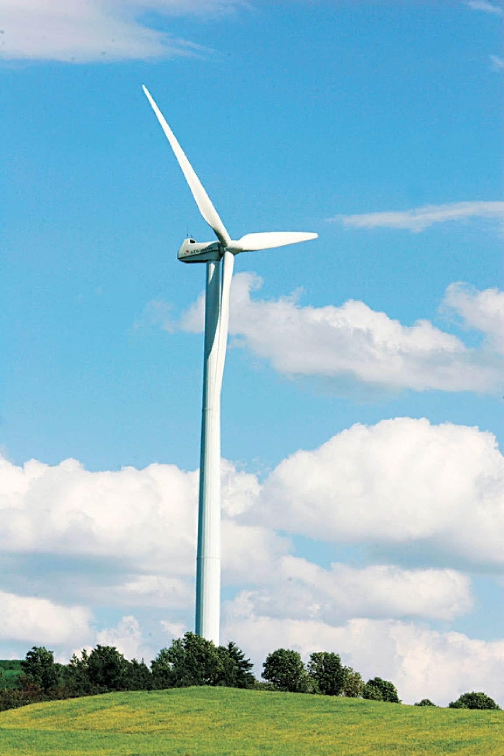 Hydro-Québec a été contrainte d'ouvrir grands les bras à l'énergie éolienne.
