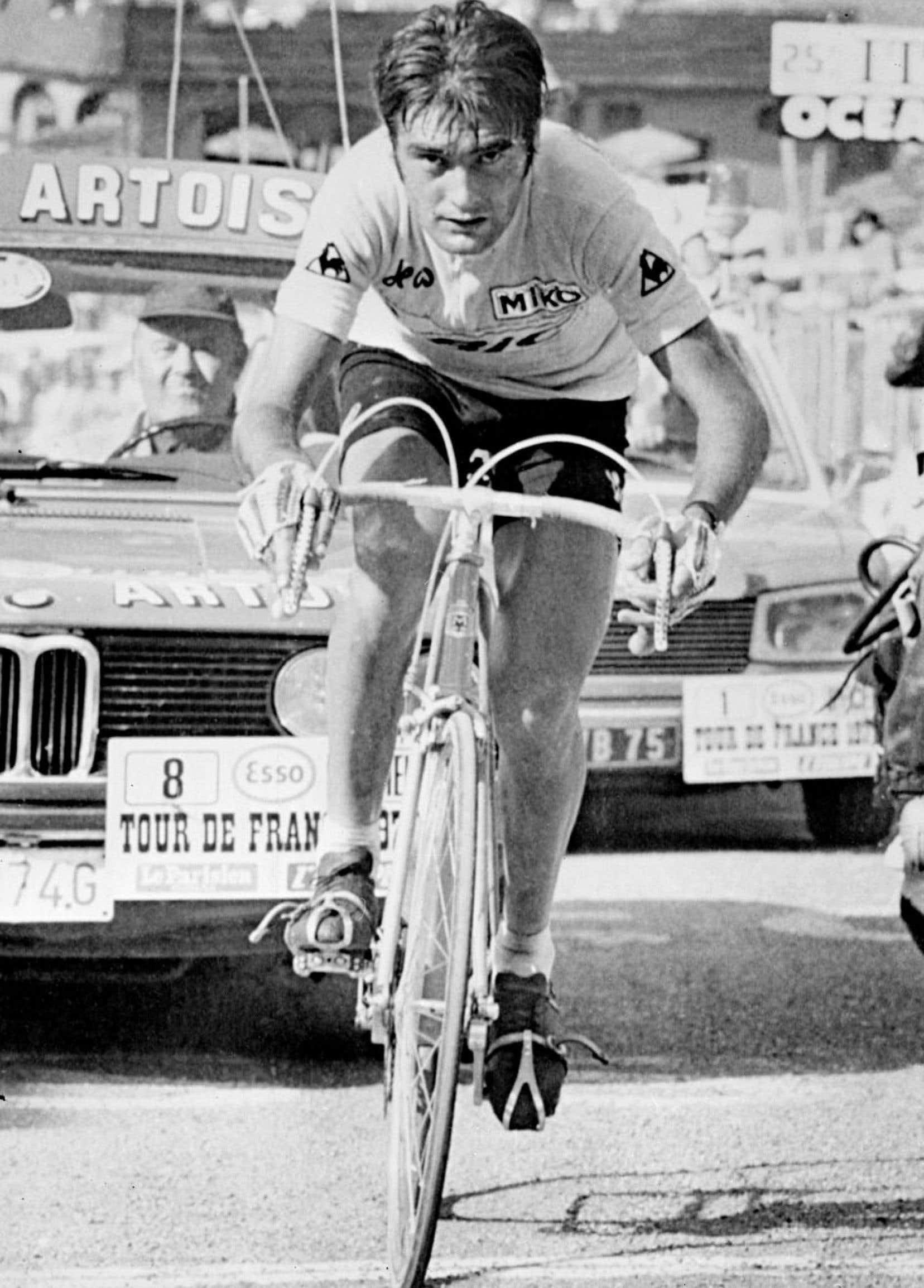 Dans la chaleur écrasante, c'est finalement l'Espagnol Luis Ocaña qui est arrivé en jaune au Vélodrome de la Cipale du Bois de Vincennes.