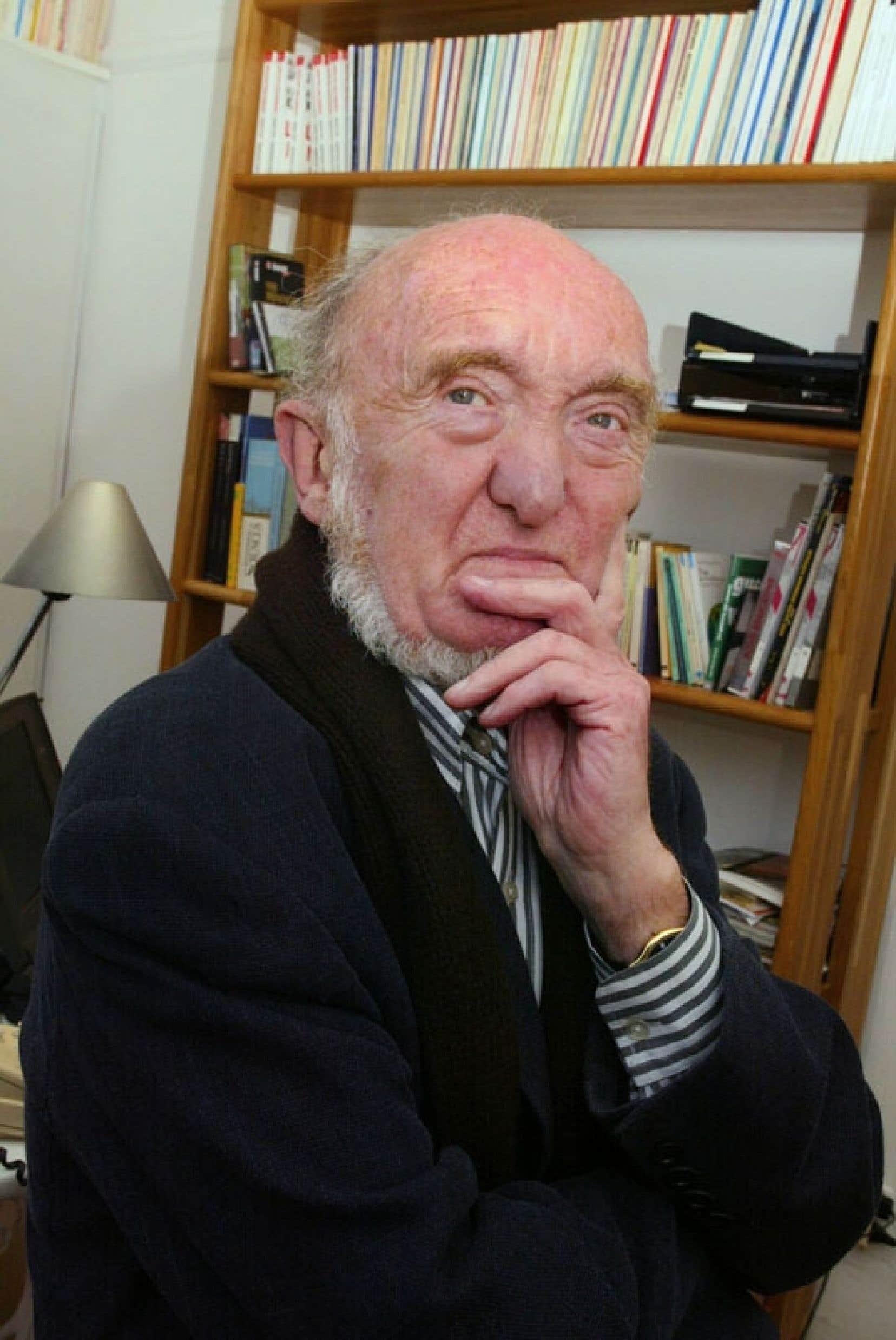 Le généticien Albert Jacquard, décédé mercredi.