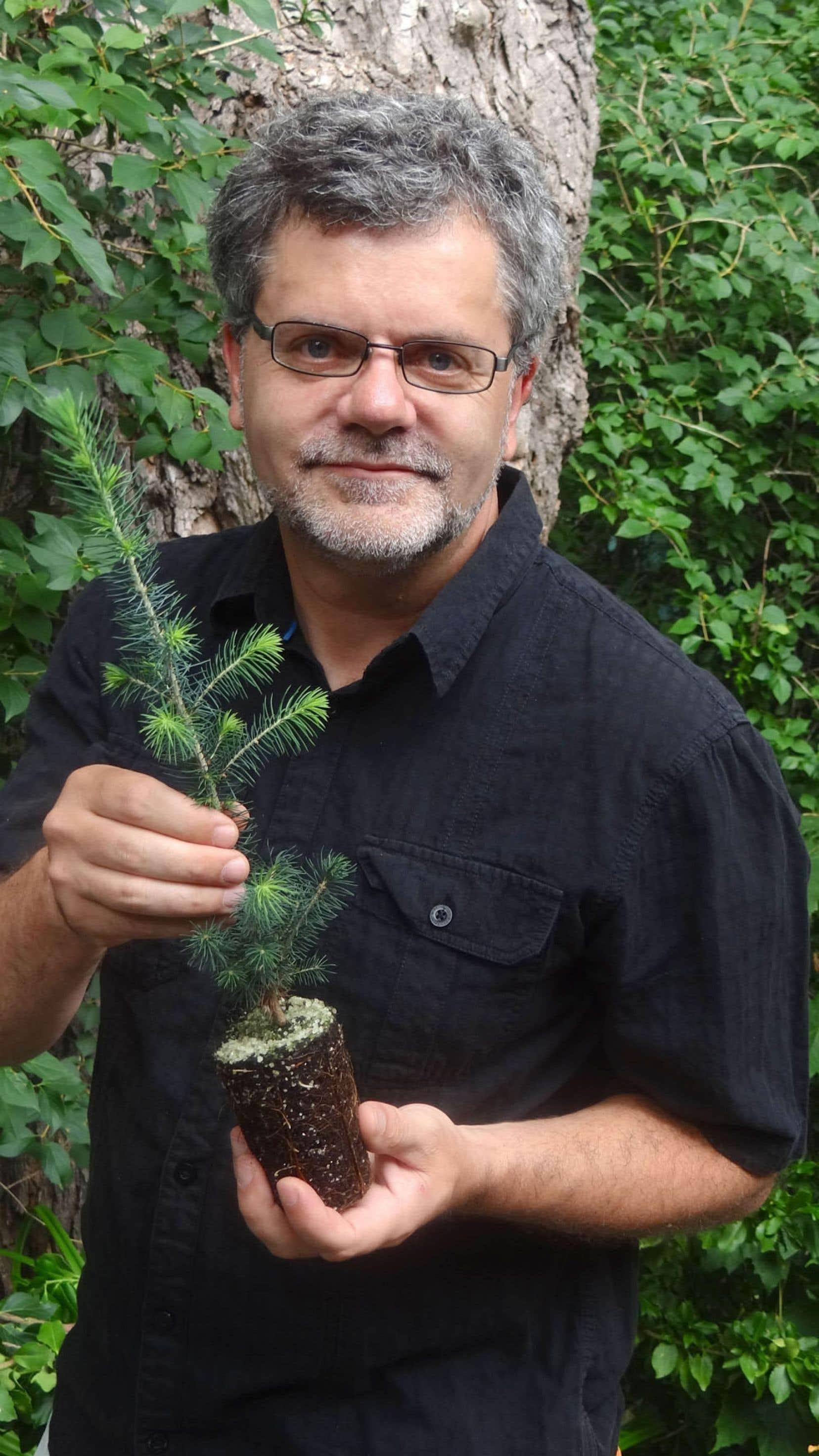 Professeur chercheur au Département des sciences du bois et de la forêt de l'Université Laval, Jean Bousquet est très enthousiaste devant les dernières découvertes réalisées sur le génome d'un conifère.
