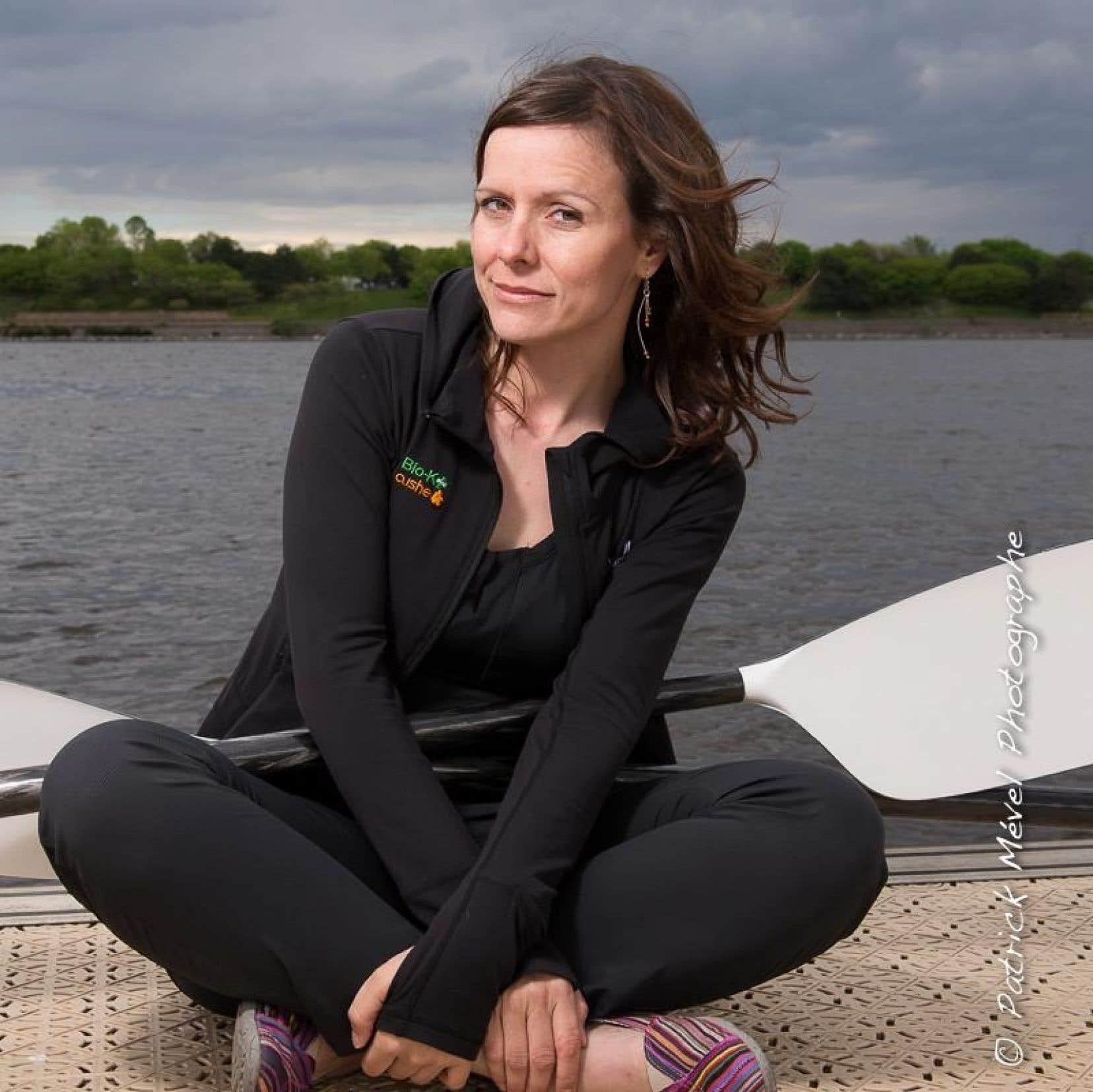 Mylène Paquette a réussi sa traversée de l'océan Atlantique à la rame, en solitaire.