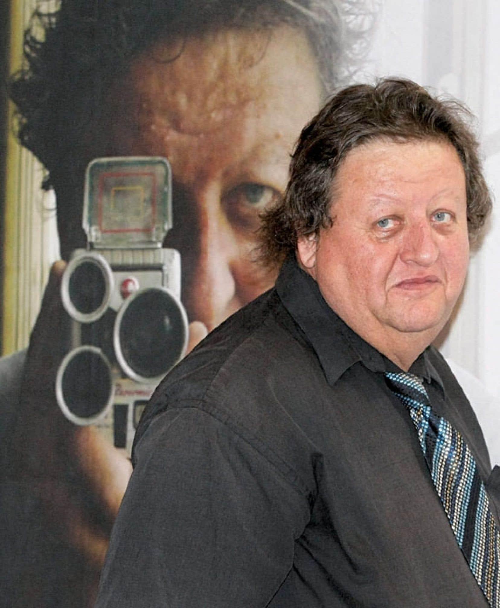 Le documentariste Peter Wintonick lors du Festival international du film de Pusan, à Busan en Corée du Sud, en octobre 2009.