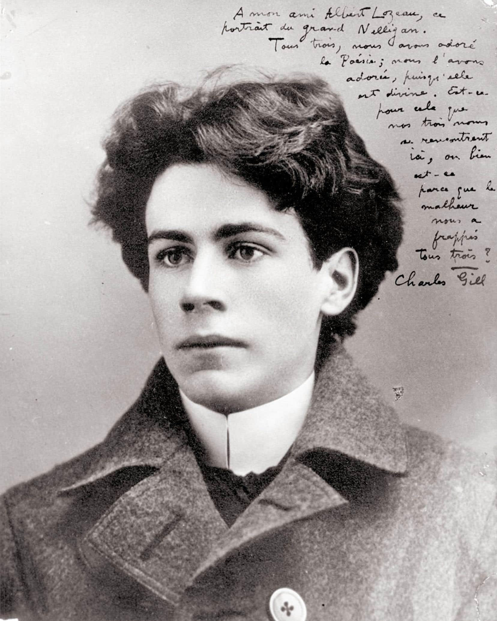 Yvette Francoli, une des meilleures spécialistes de la littérature québécoise, soutient, preuves «circonstancielles» à l'appui, que les meilleurs poèmes attribués à Nelligan ont été écrits «à quatre mains».