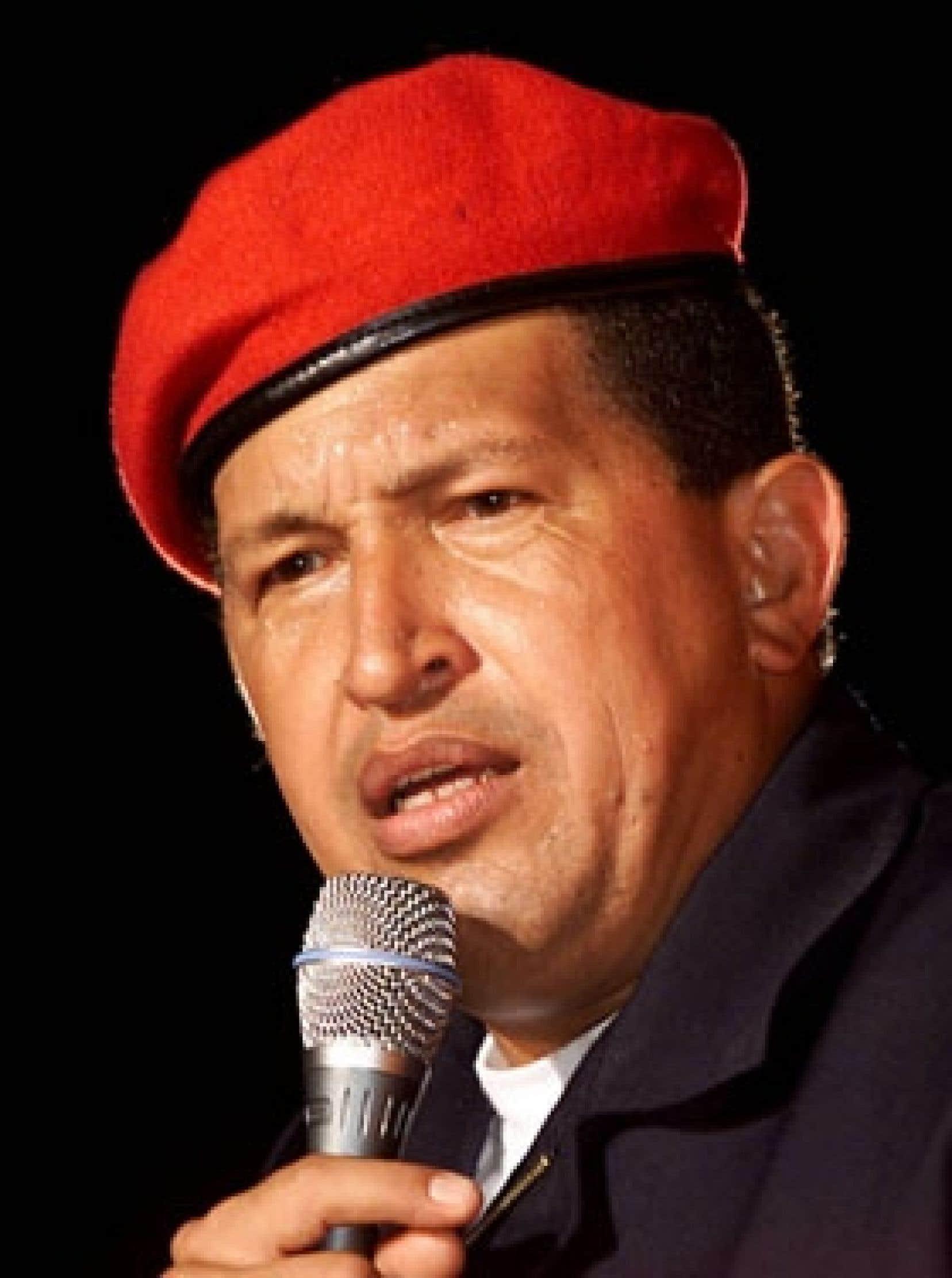 Hugo Chávez., président du Venezuela: pour des entreprises mixtes.