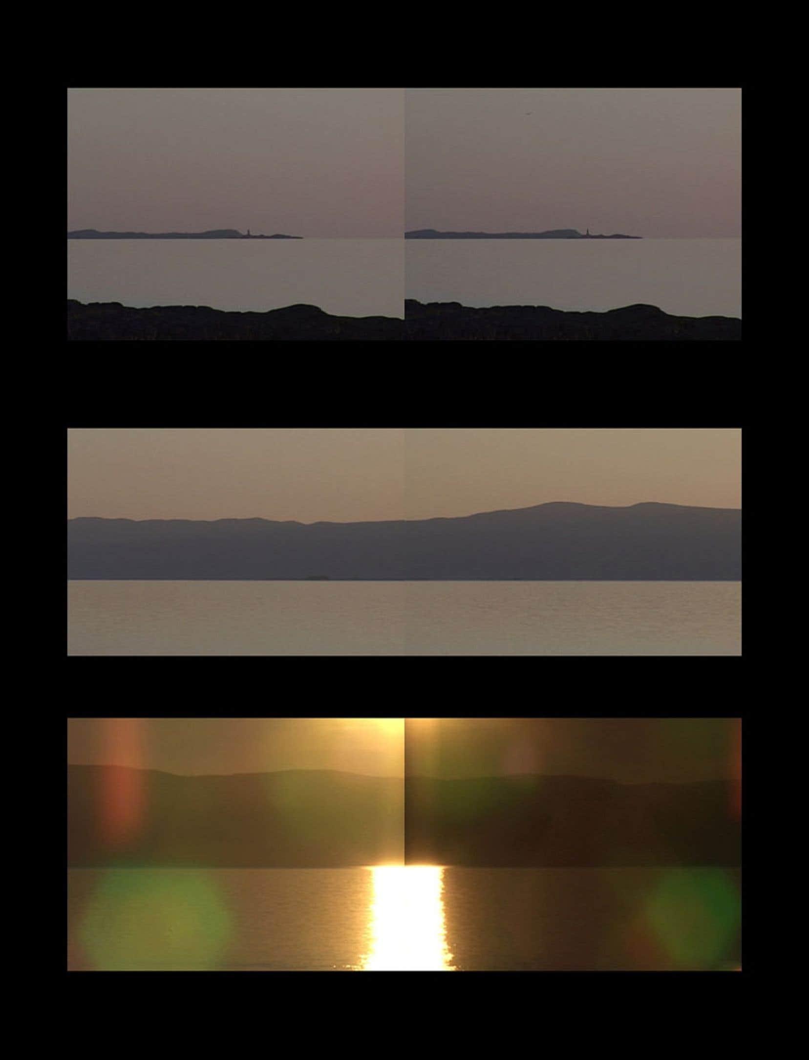 Montage photographique de l'artiste Jean-Pierre Aubé