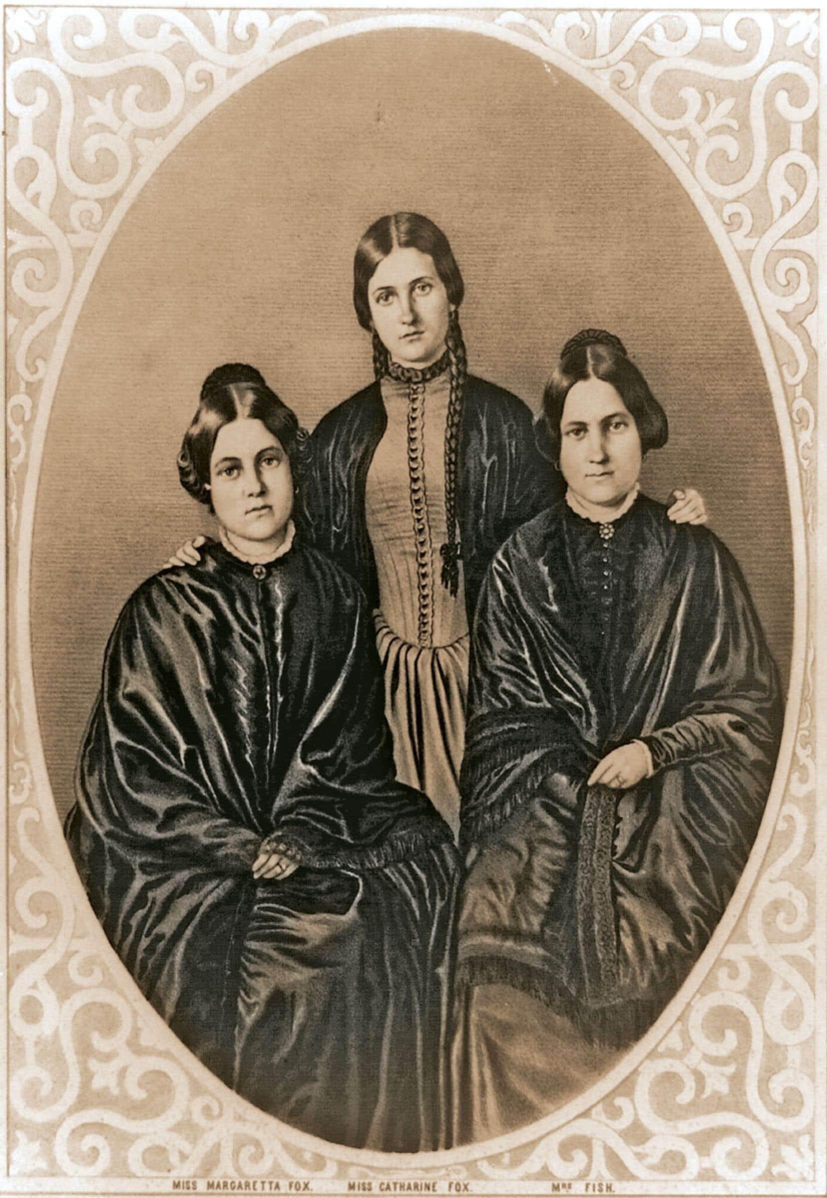 Les sœurs Kate, Leah et Margaret (Maggie) Fox