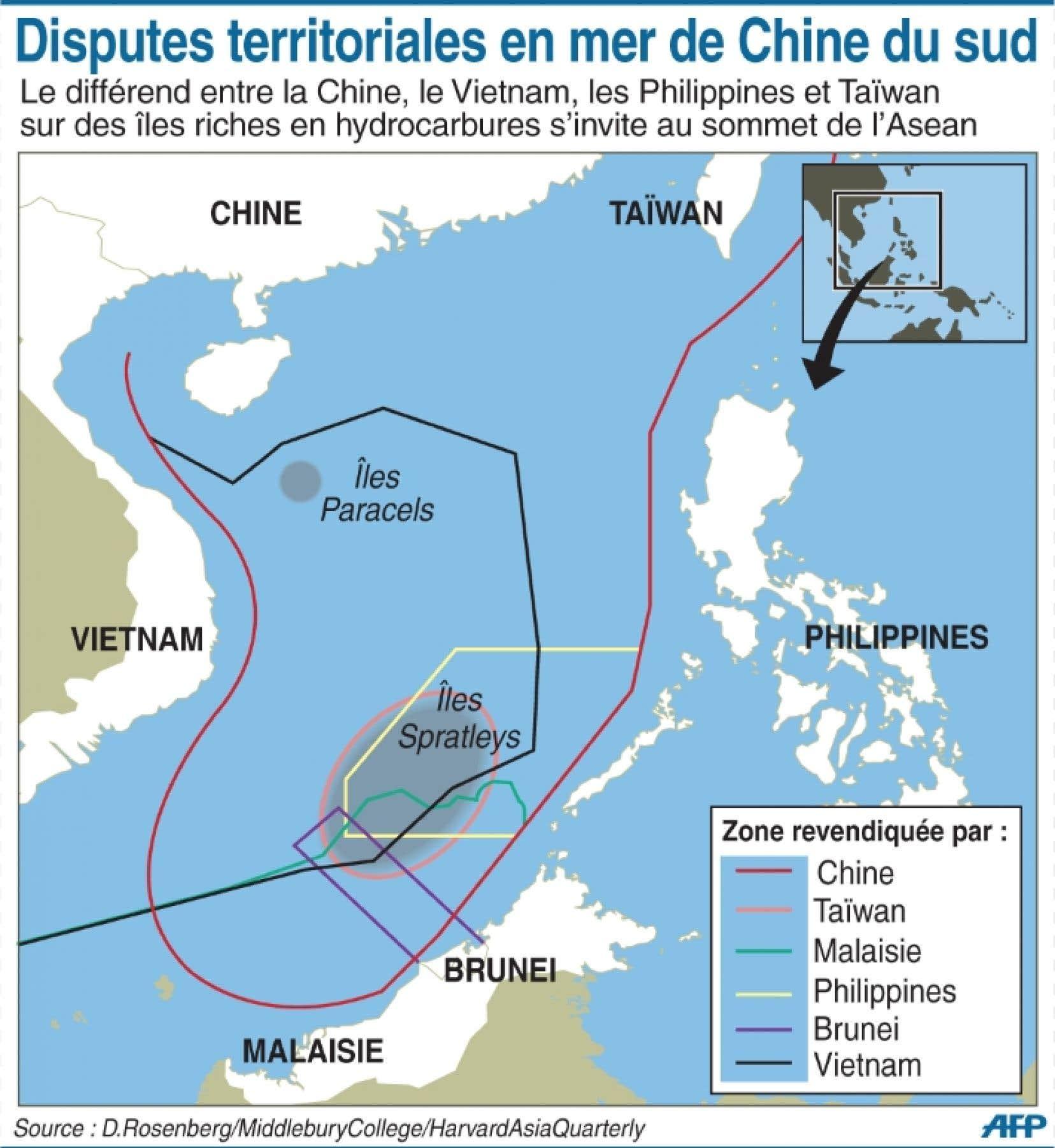 Disputes territoriales en mer de Chine du sud