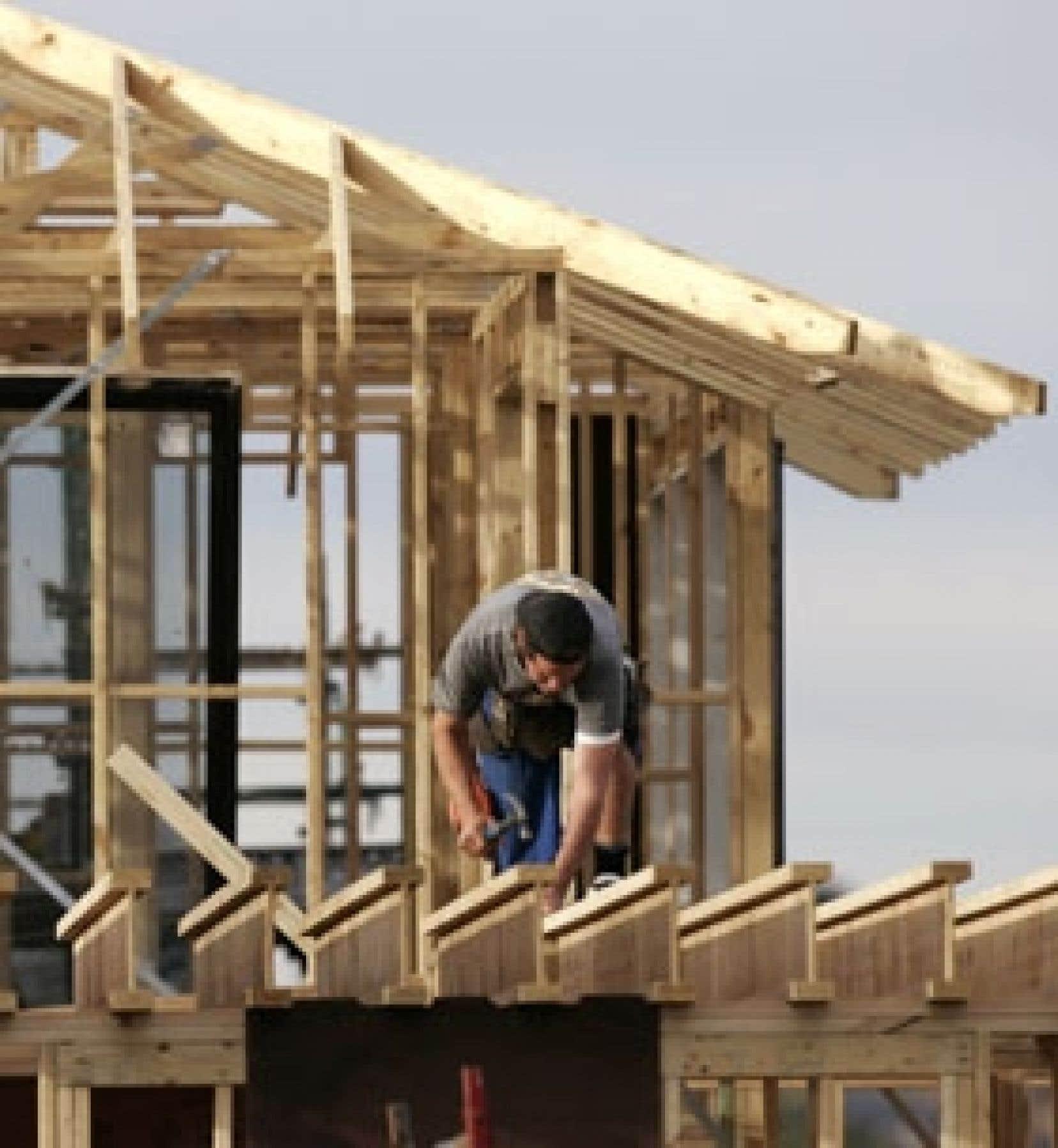 Les données américaines du mois de janvier signalent que les mises en chantier en janvier étaient à leur plus bas niveau en 10 ans et évoluaient à une vitesse de 35 % inférieure à ce qu'elle était au sommet du cycle.