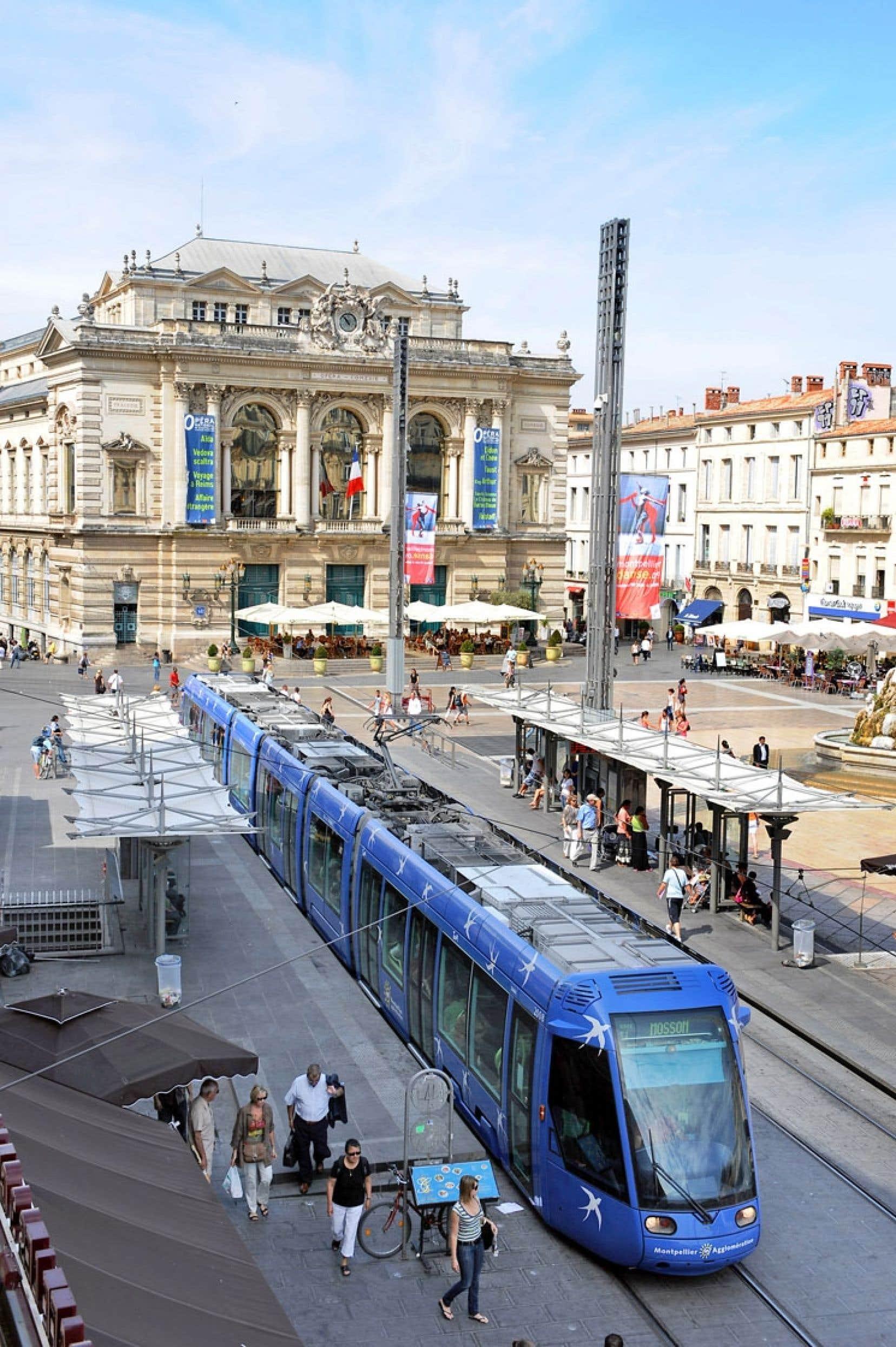 La ville de Montpellier, dans le sud de la France, est présentée comme l'un des modèles en matière d'exploitation de réseaux intelligents.
