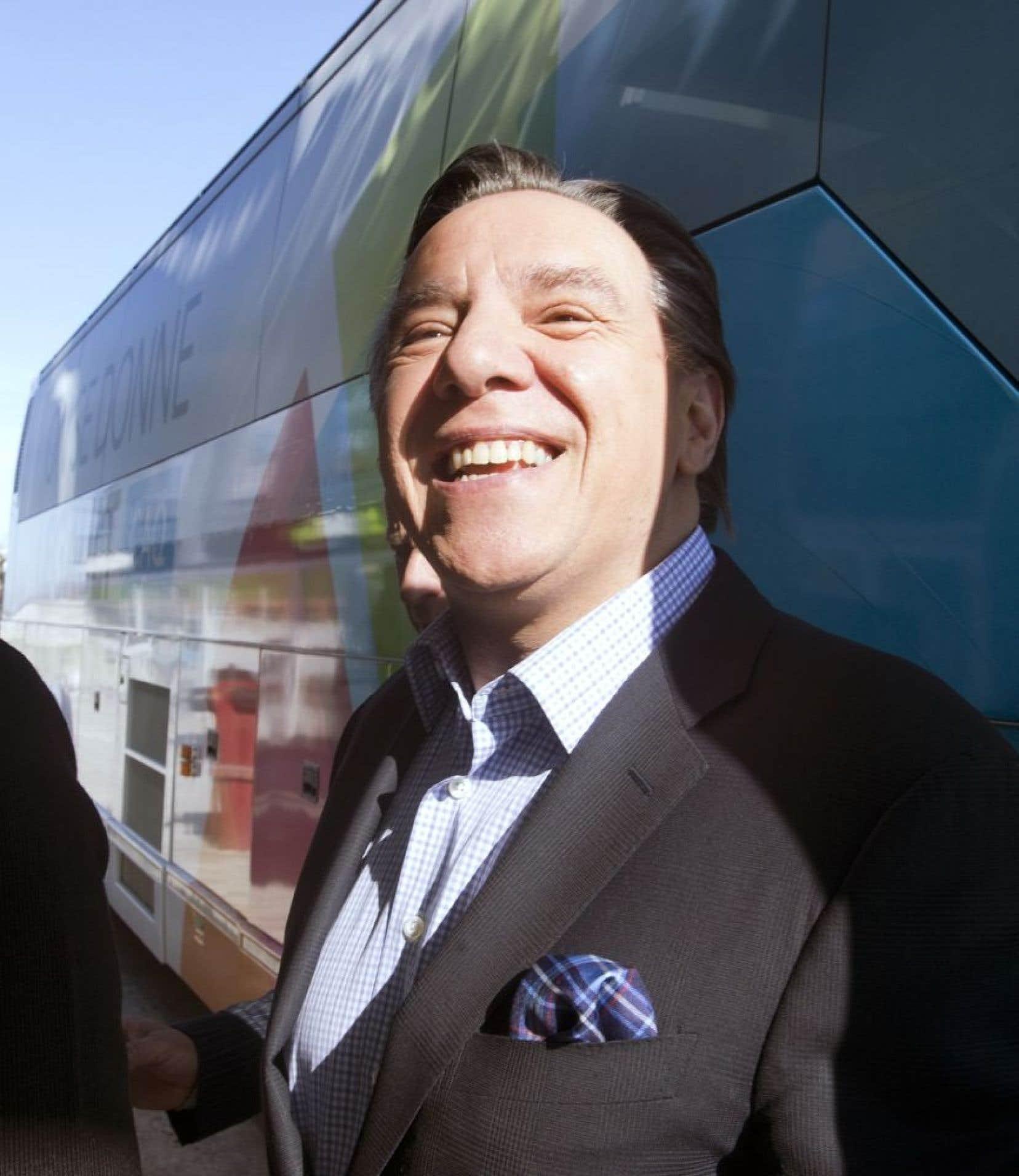 Le chef caquiste François Legault