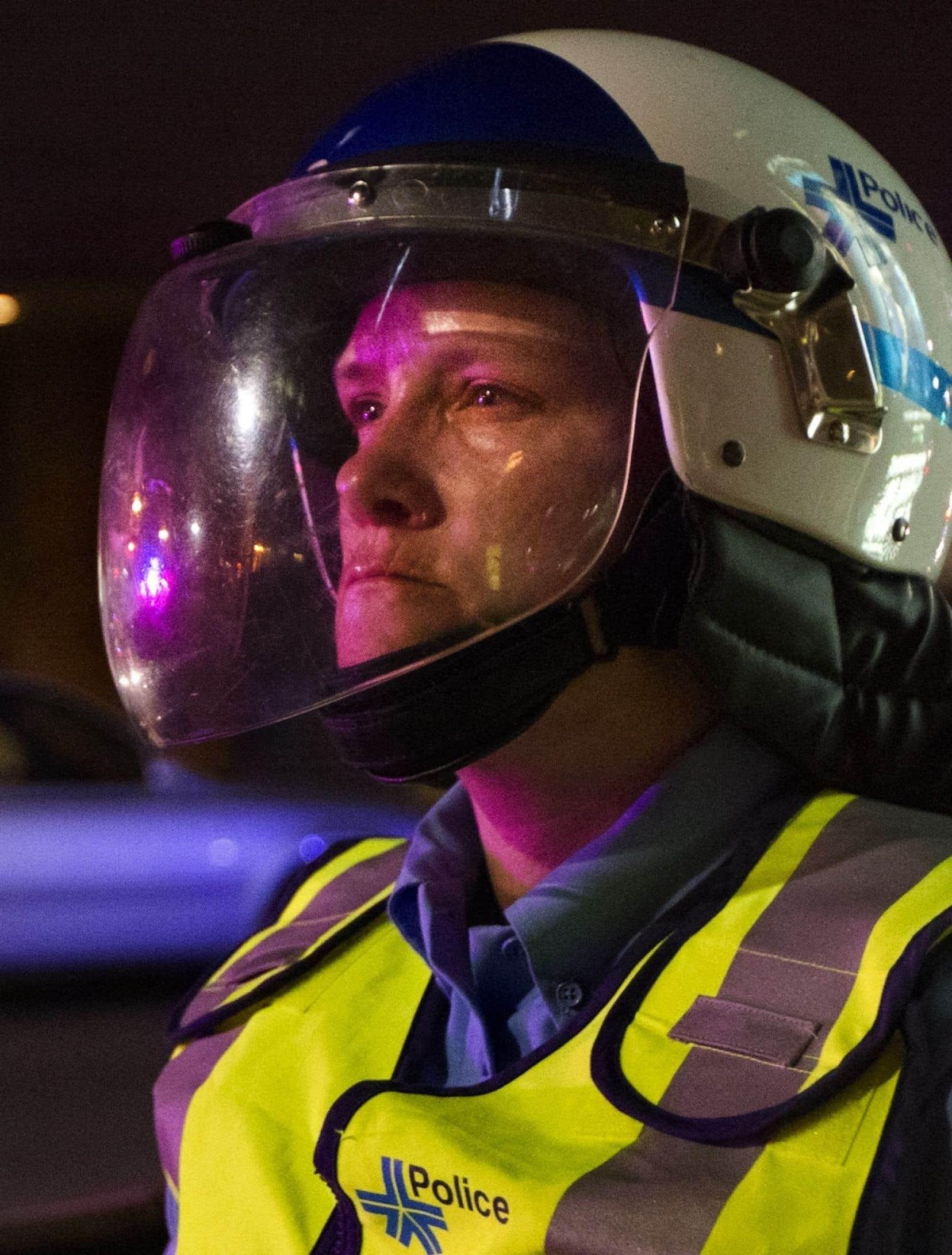 La policière Stéfanie Trudeau, connue sous le nom de Matricule 728.