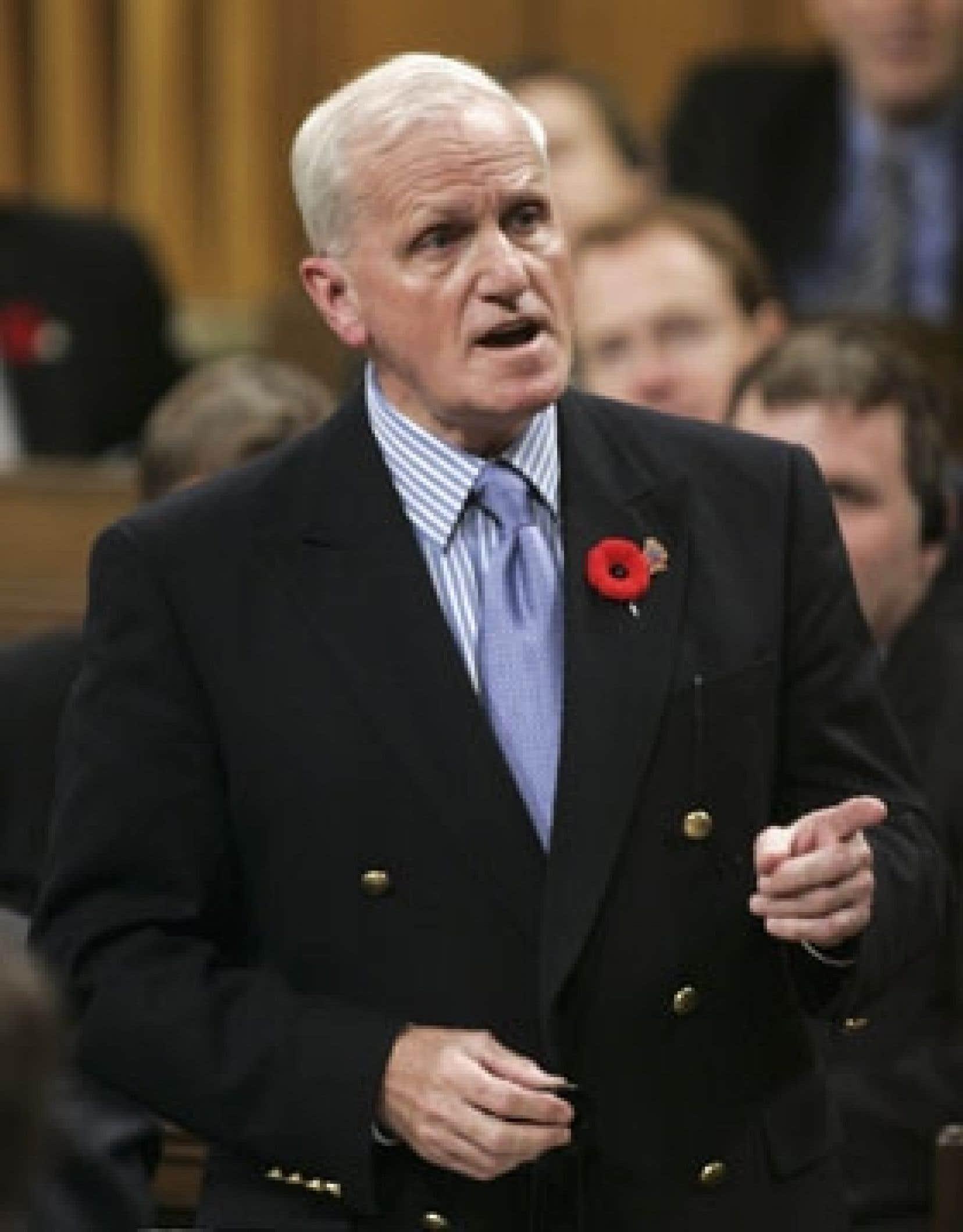 Gordon O'Connor, ministre canadien de la Défense