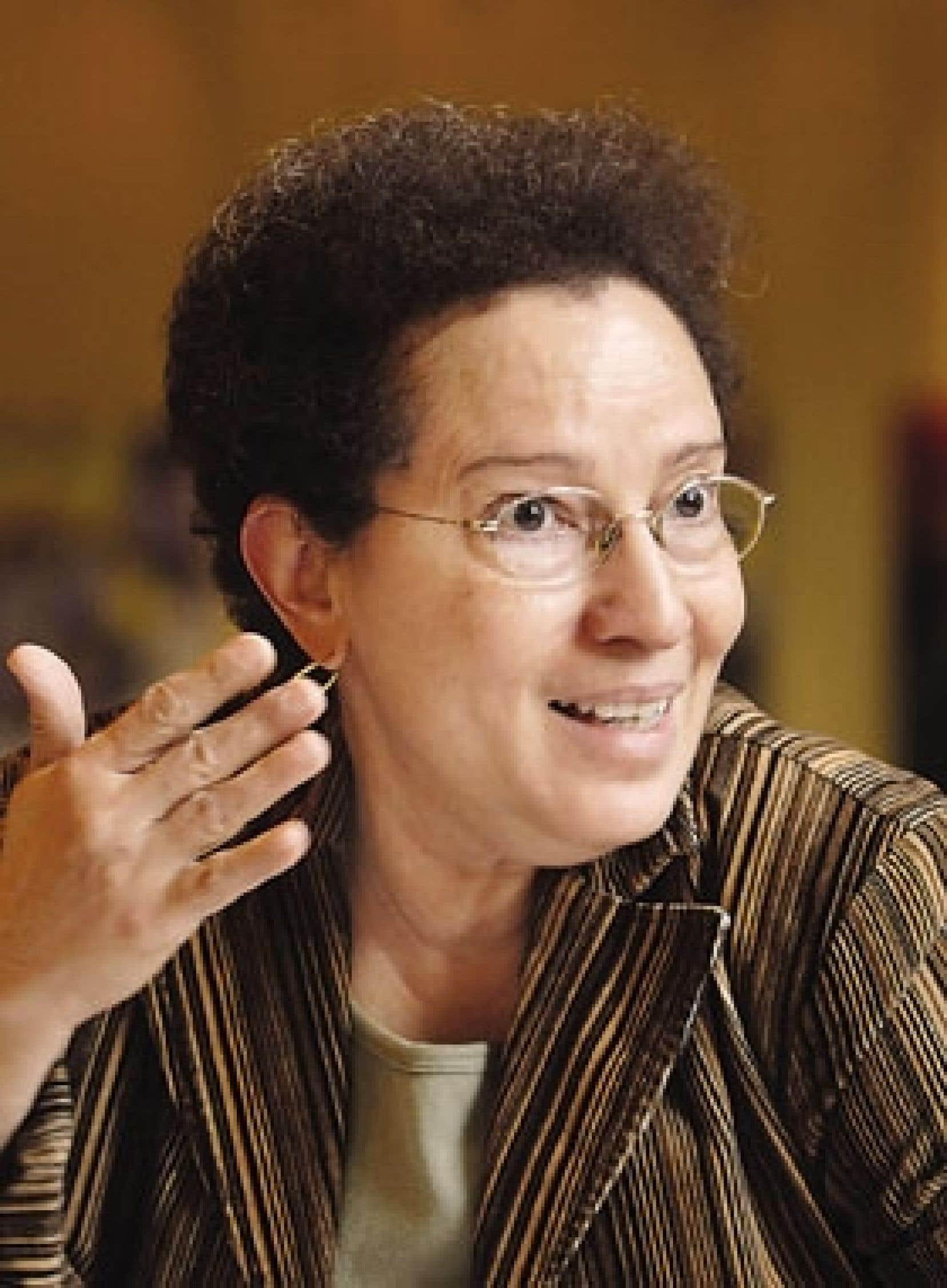 L'écrivaine Jan Dominique
