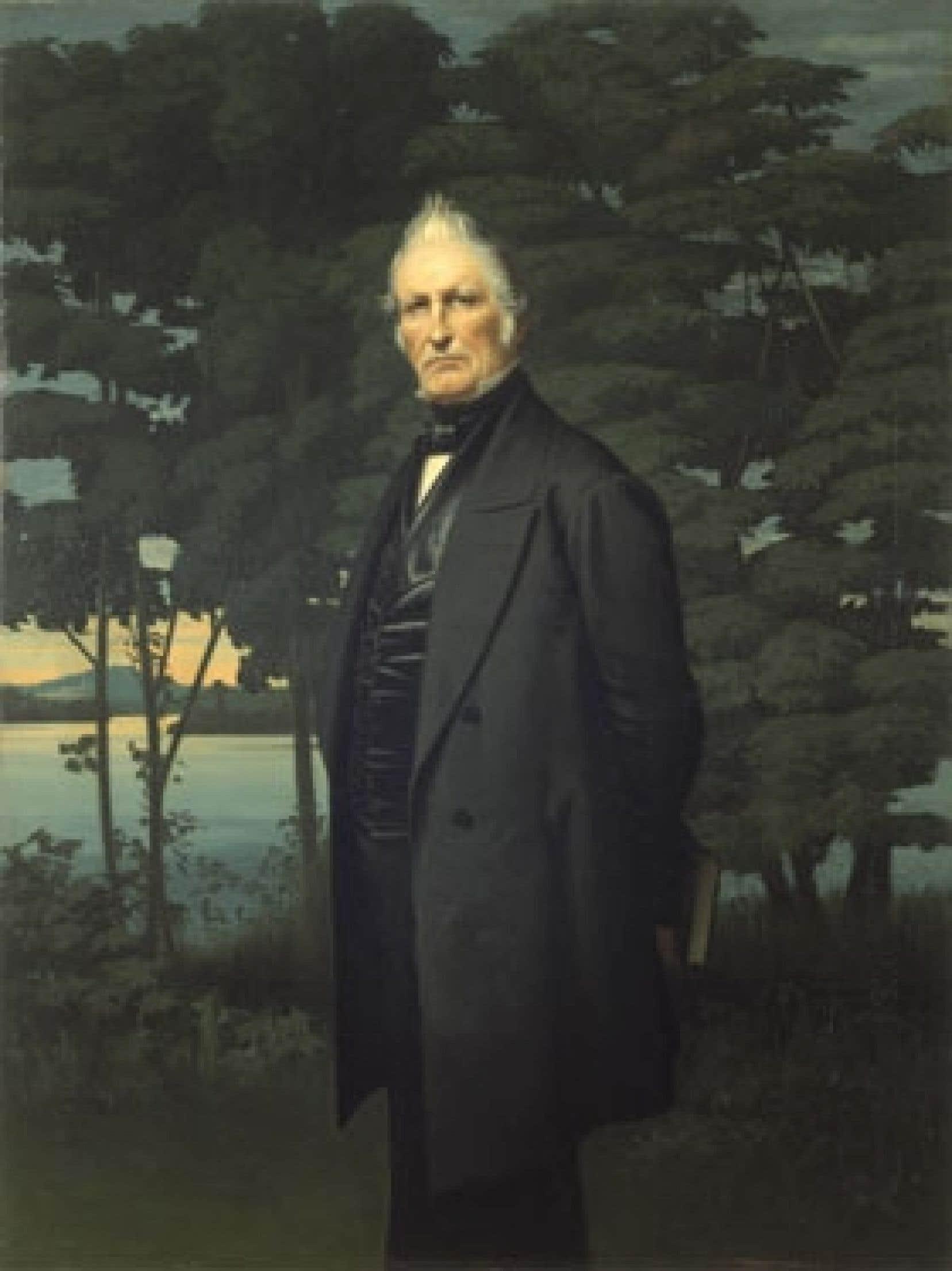 Une toile de Napoléon Bourassa représentant Louis-Joseph Papineau, l'un des acteurs clés de la rébellion des Patriotes de 1837. Cet événement est maintenant mentionné dans la version définitive du programme d'histoire de 3e et 4e secondaire.