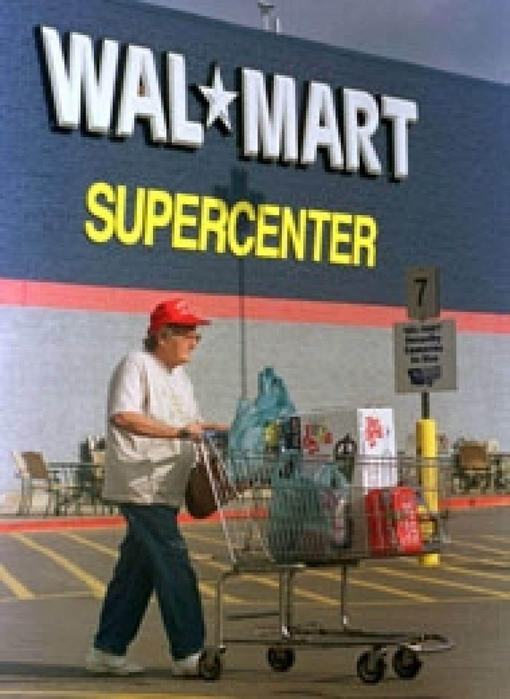 Un Wal-Mart en Grande-Bretagne