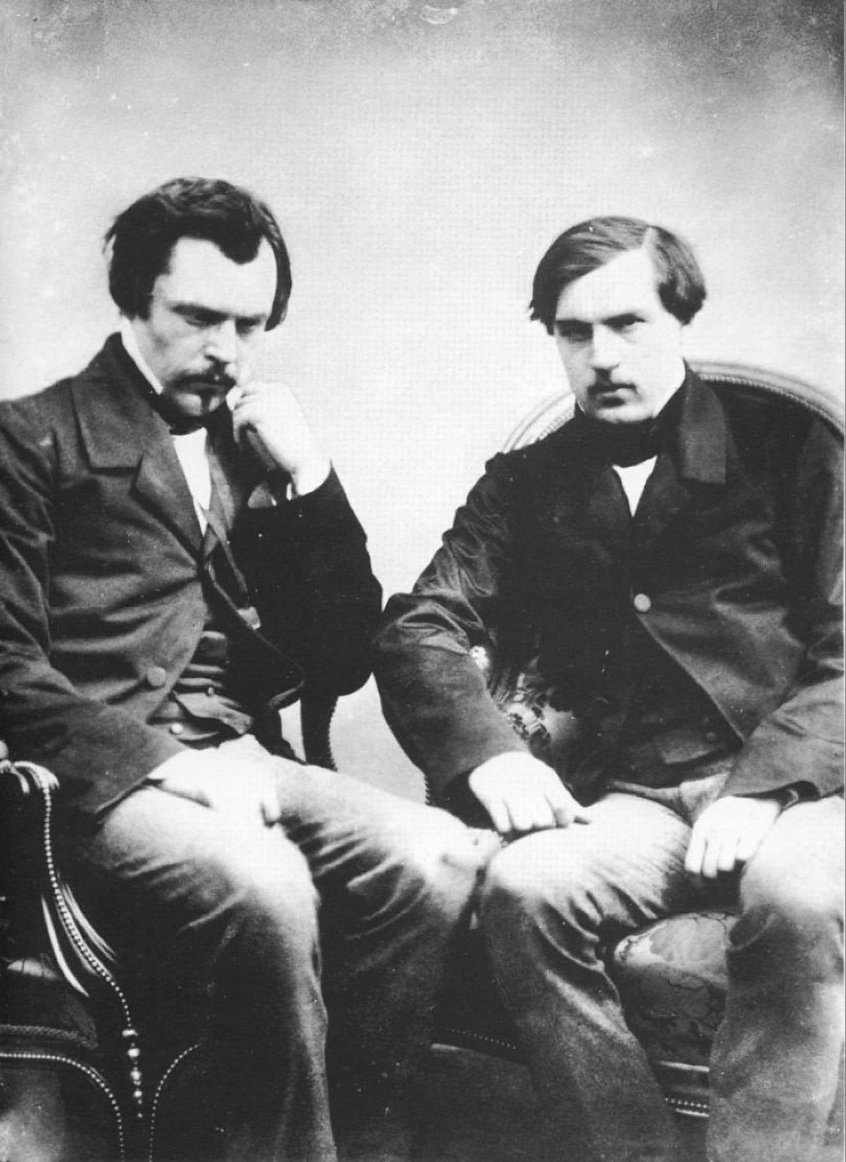 Les frères Edmond et Jules de Goncourt avaient la dent dure, comme les gens de lettres de tout temps.