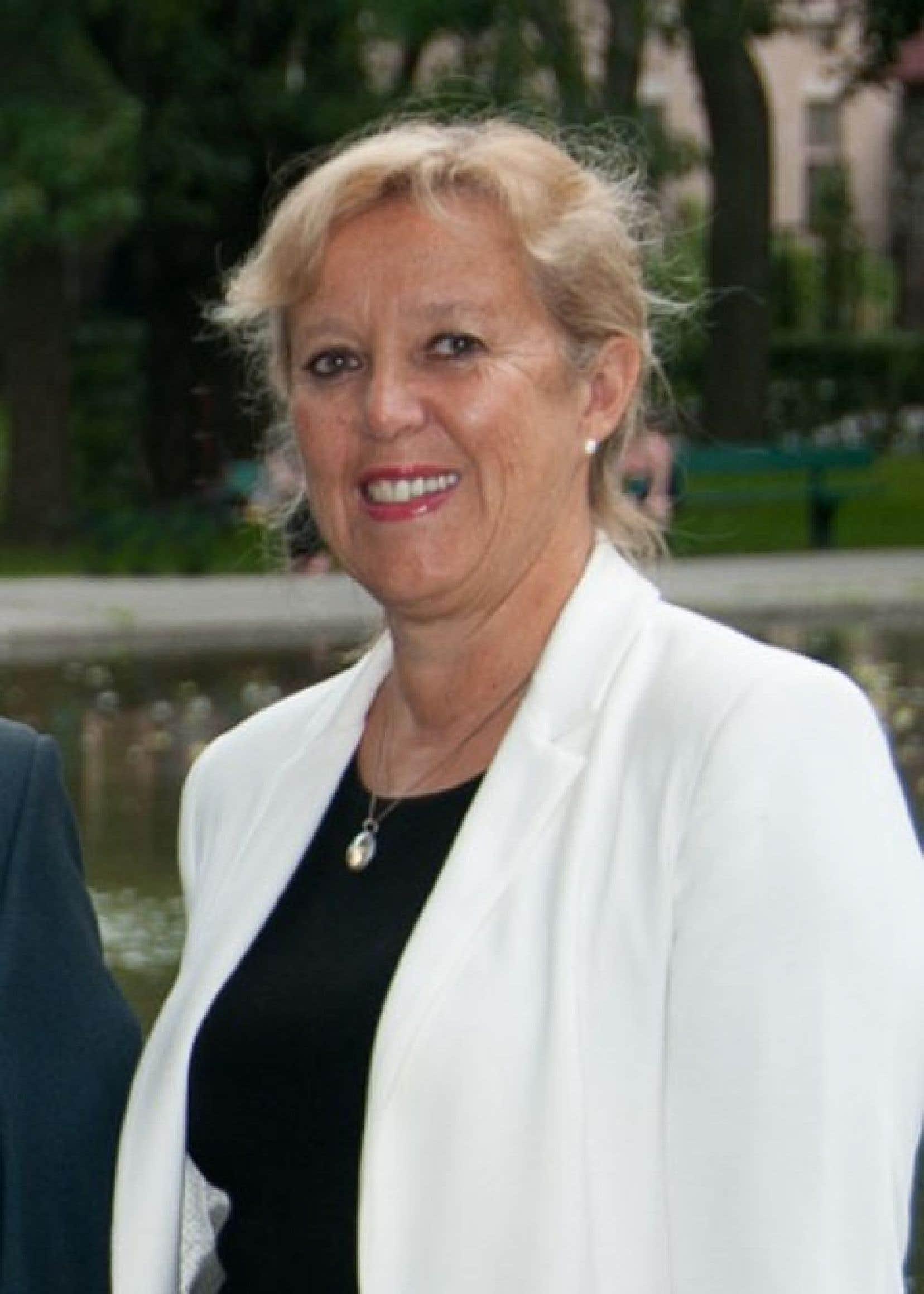 La conseillère Lucie Cardyn