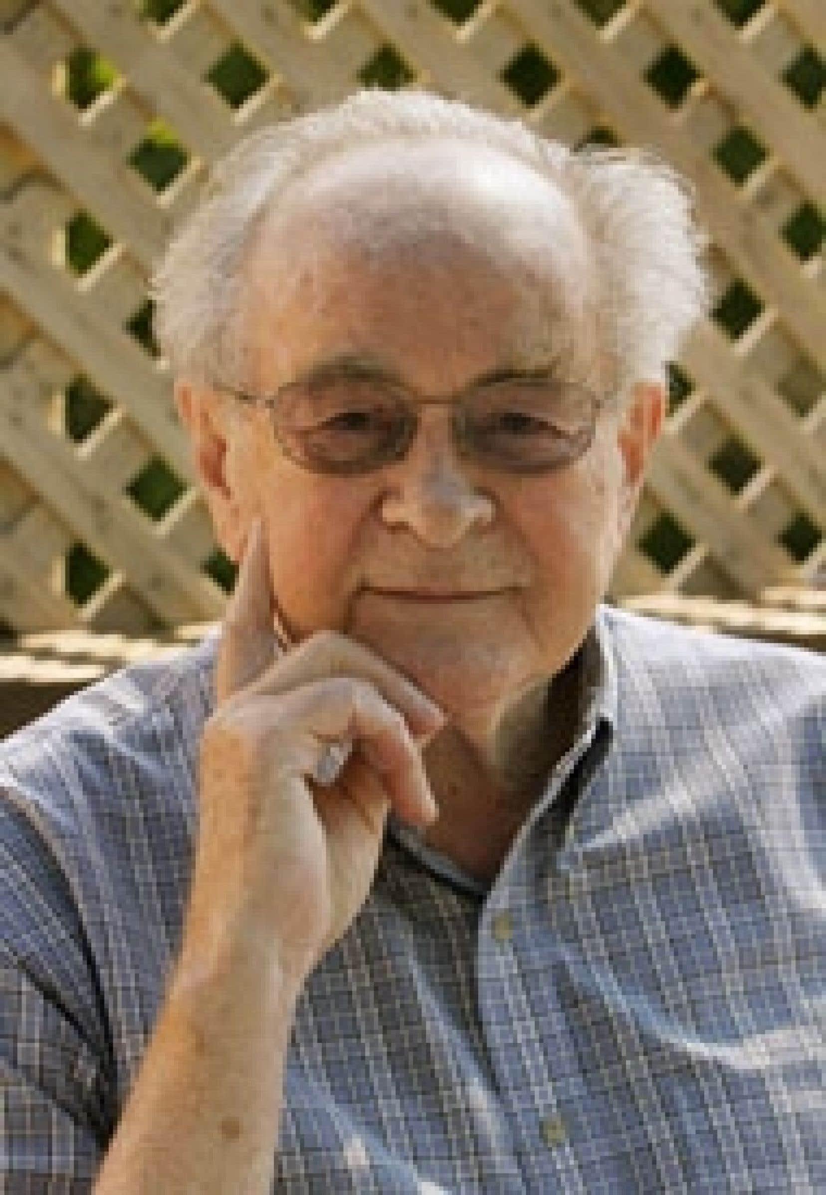 Louis O'Neill, ancien ministre de la Culture sous le gouvernement de René Lévesque.