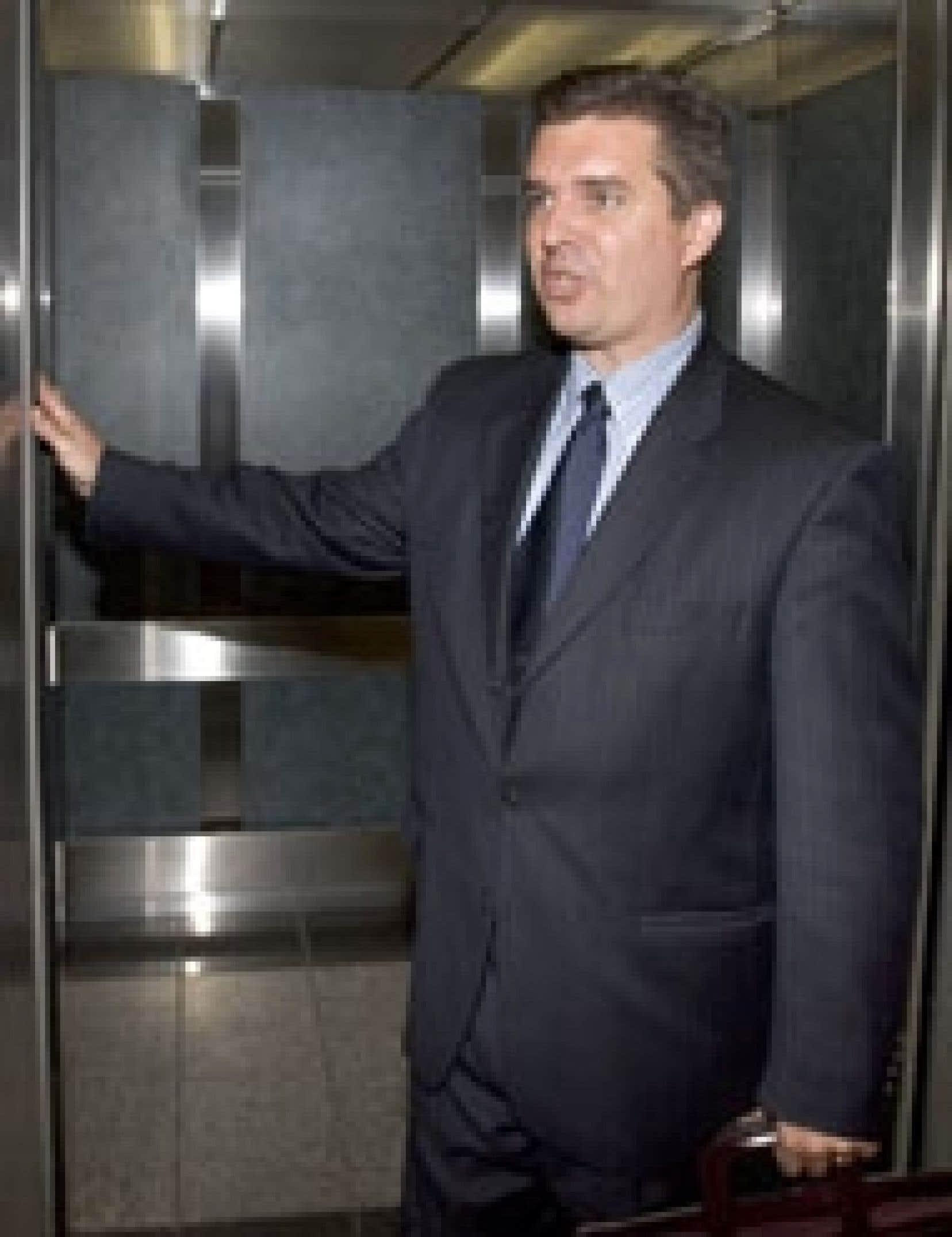 Vincent Lacroix, ancien président de Norbourg: sans avocat.