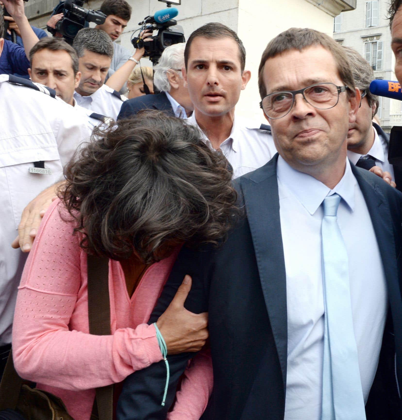 Nicolas Bonnemaison a quitté mercredi la cour après avoir été acquitté.