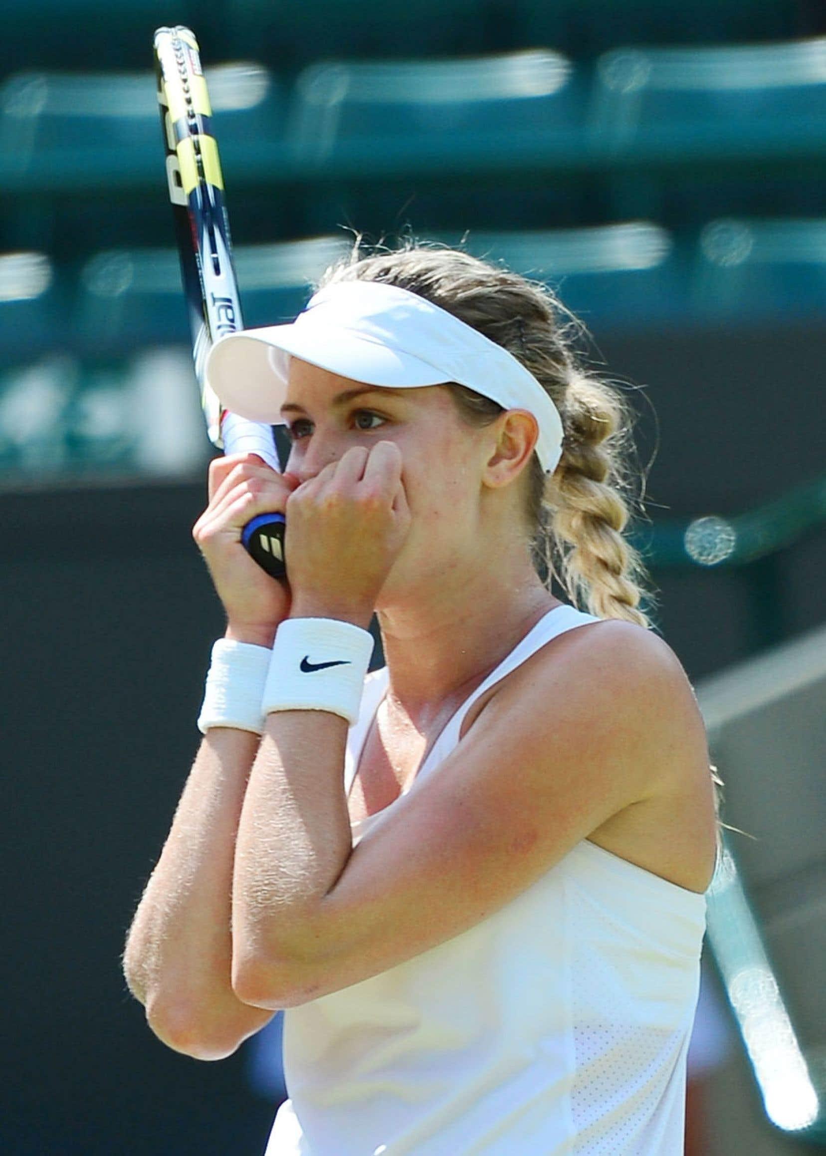 Eugenie Bouchard et son compatriote canadien Milos Raonic ont tous deux atteint<br /> le carr&eacute; d&rsquo;as mercredi au tournoi de tennis de Wimbledon.