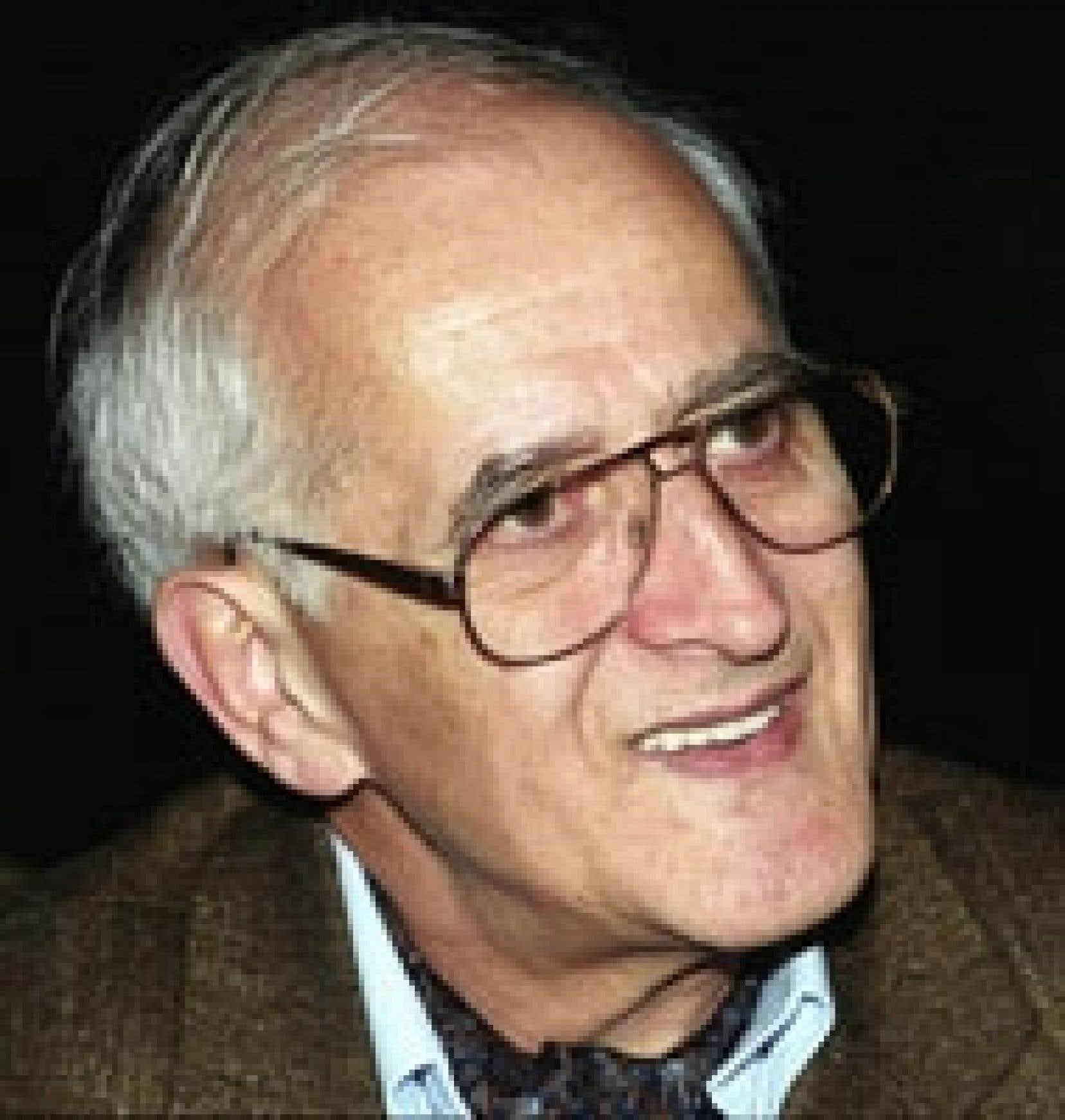 L'anthropologue Bernard Saladin d'Anglure, photographié en 2002.