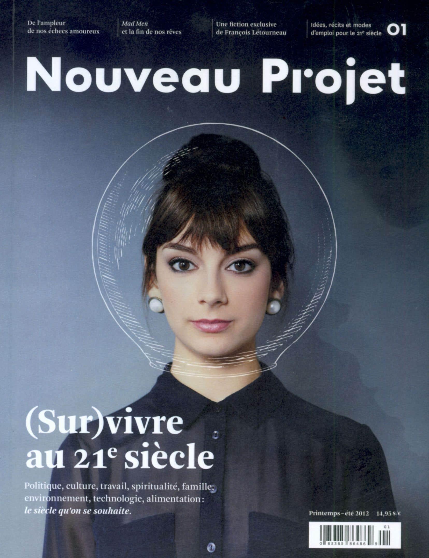Le premier numéro de <em>Nouveau projet</em>, publié en 2012