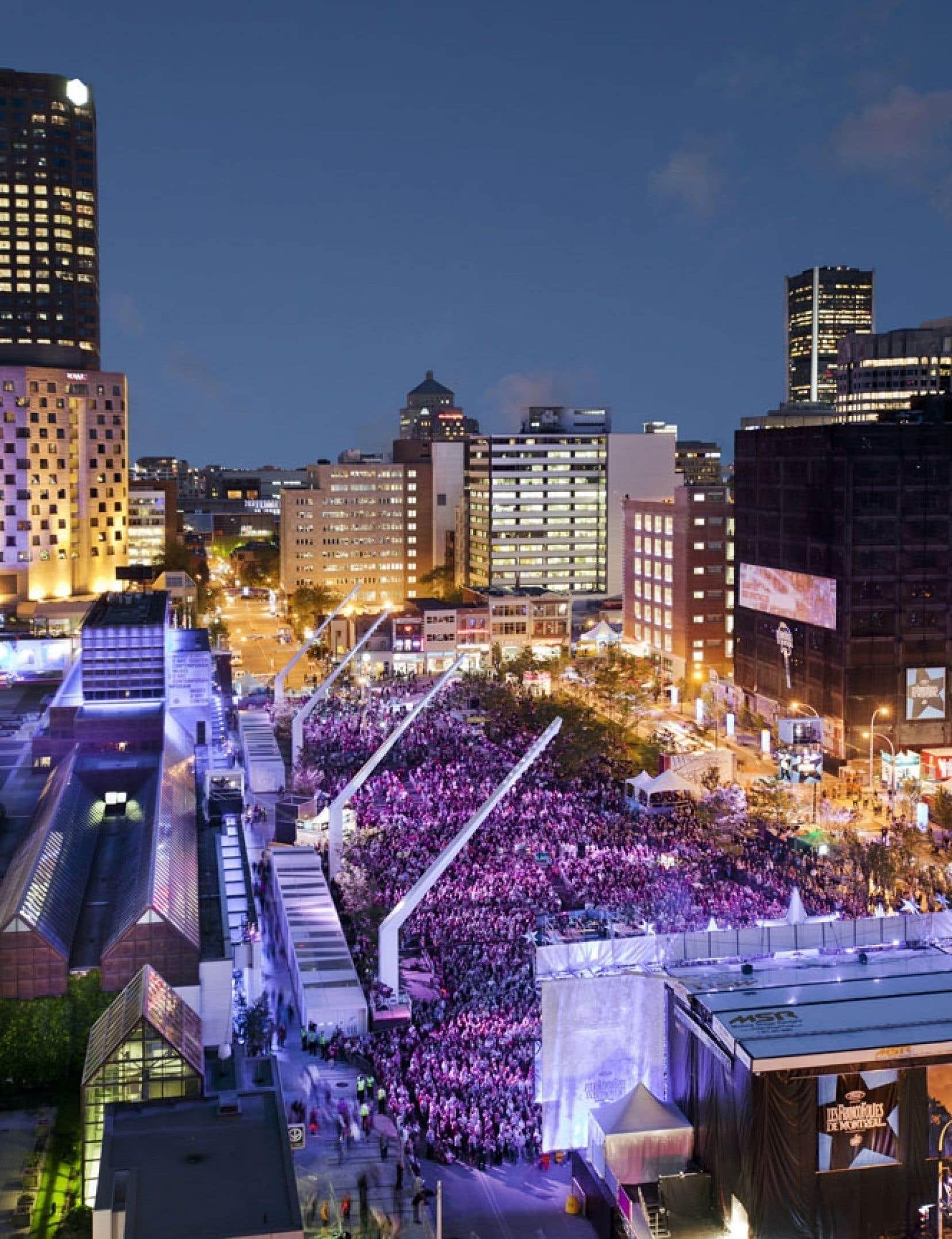 Le FMD occupera et illuminera pour la première fois la place des Festivals cette année.