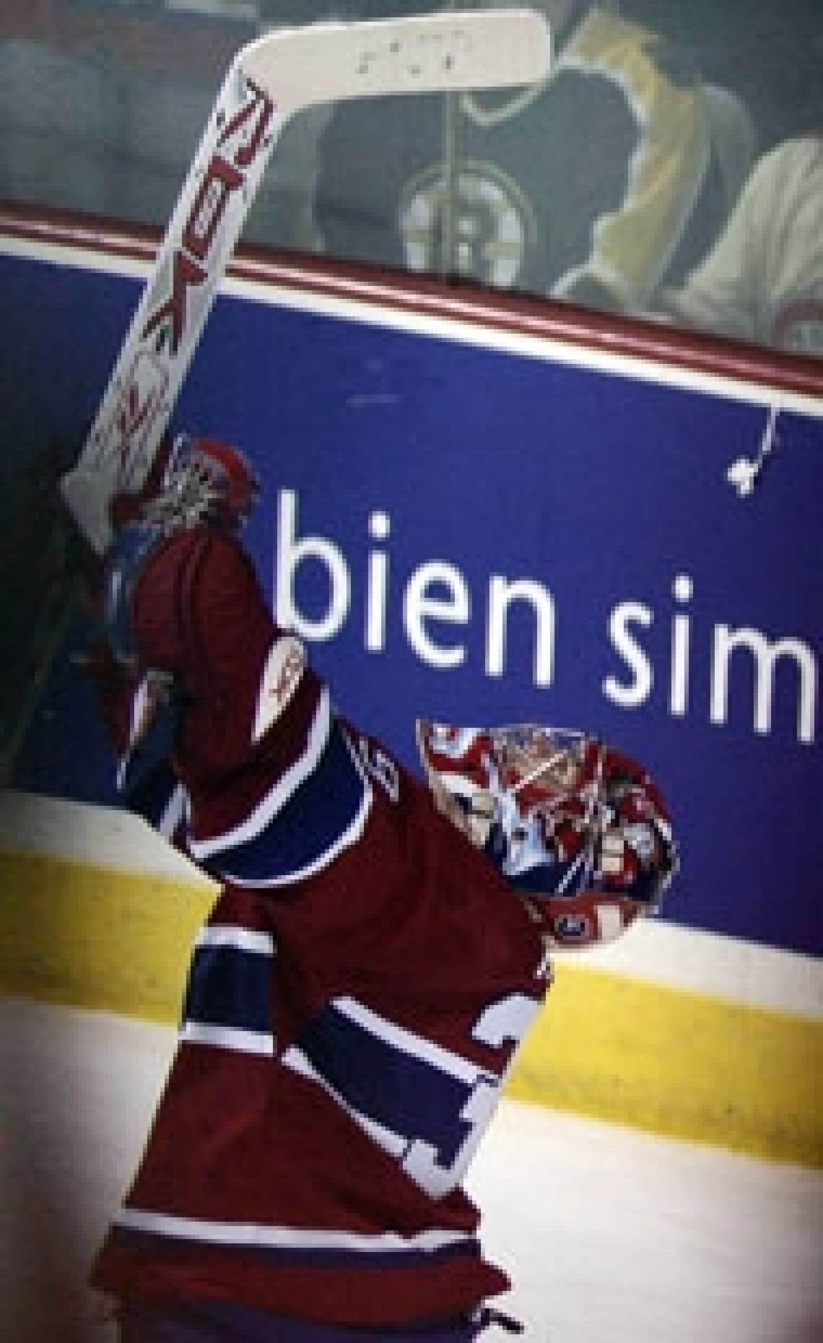 Cristobal Huet a célébré la victoire de 2-0 du Canadien contre les Bruins de Boston, samedi, devant la foule montréalaise.