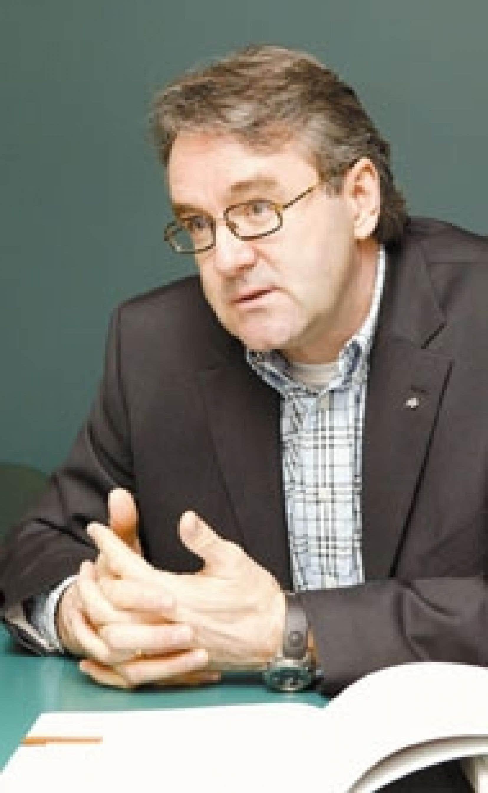 Guy Drouin est président depuis 2002 d'ADS, qu'il dirige avec ses frères.